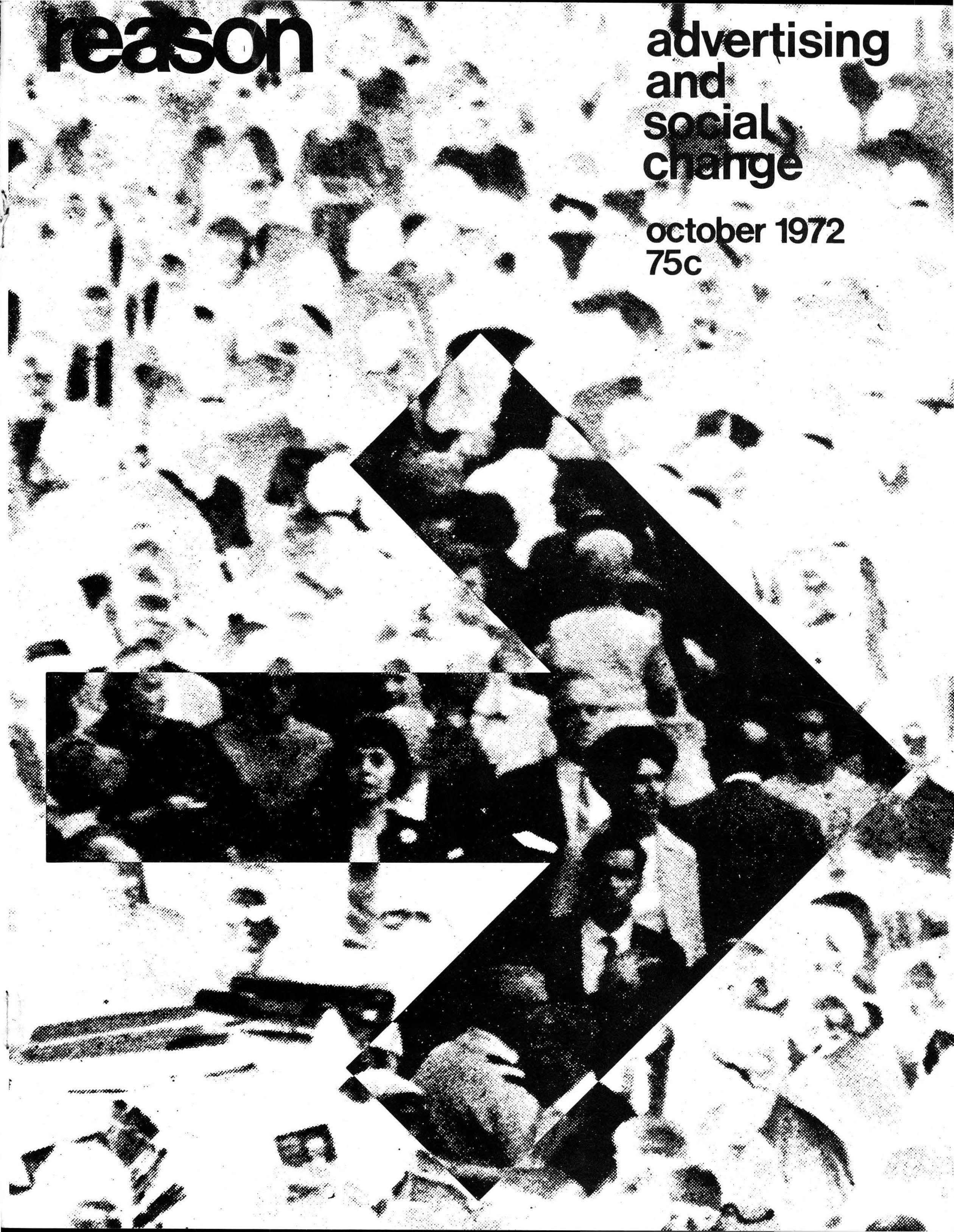 Reason Magazine, October 1972 cover image