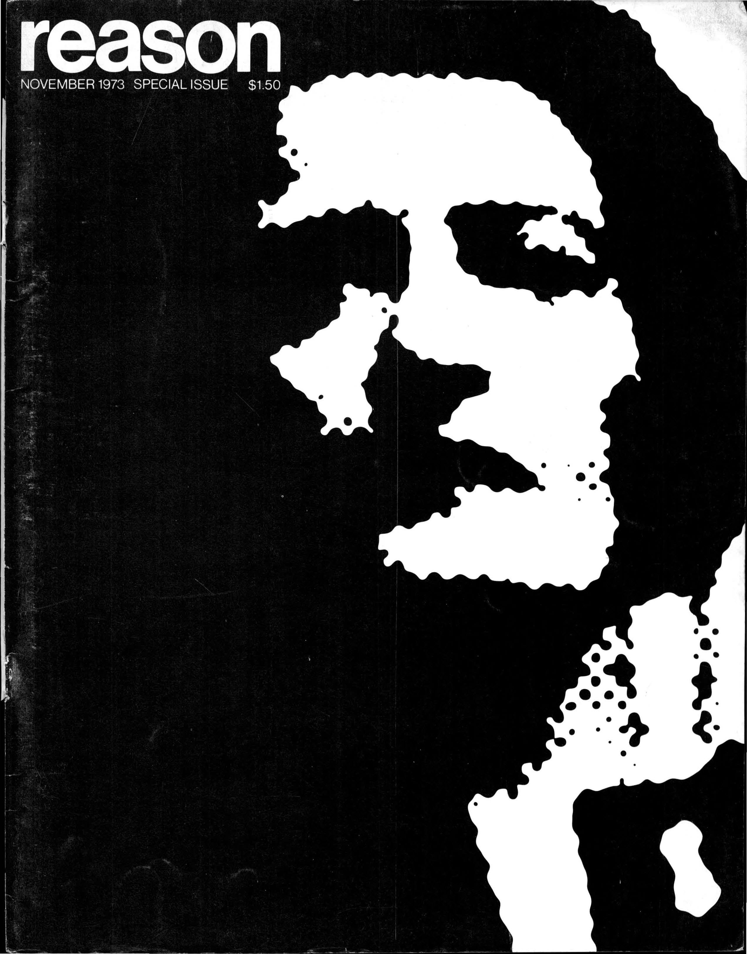 Reason Magazine, November 1973 cover image