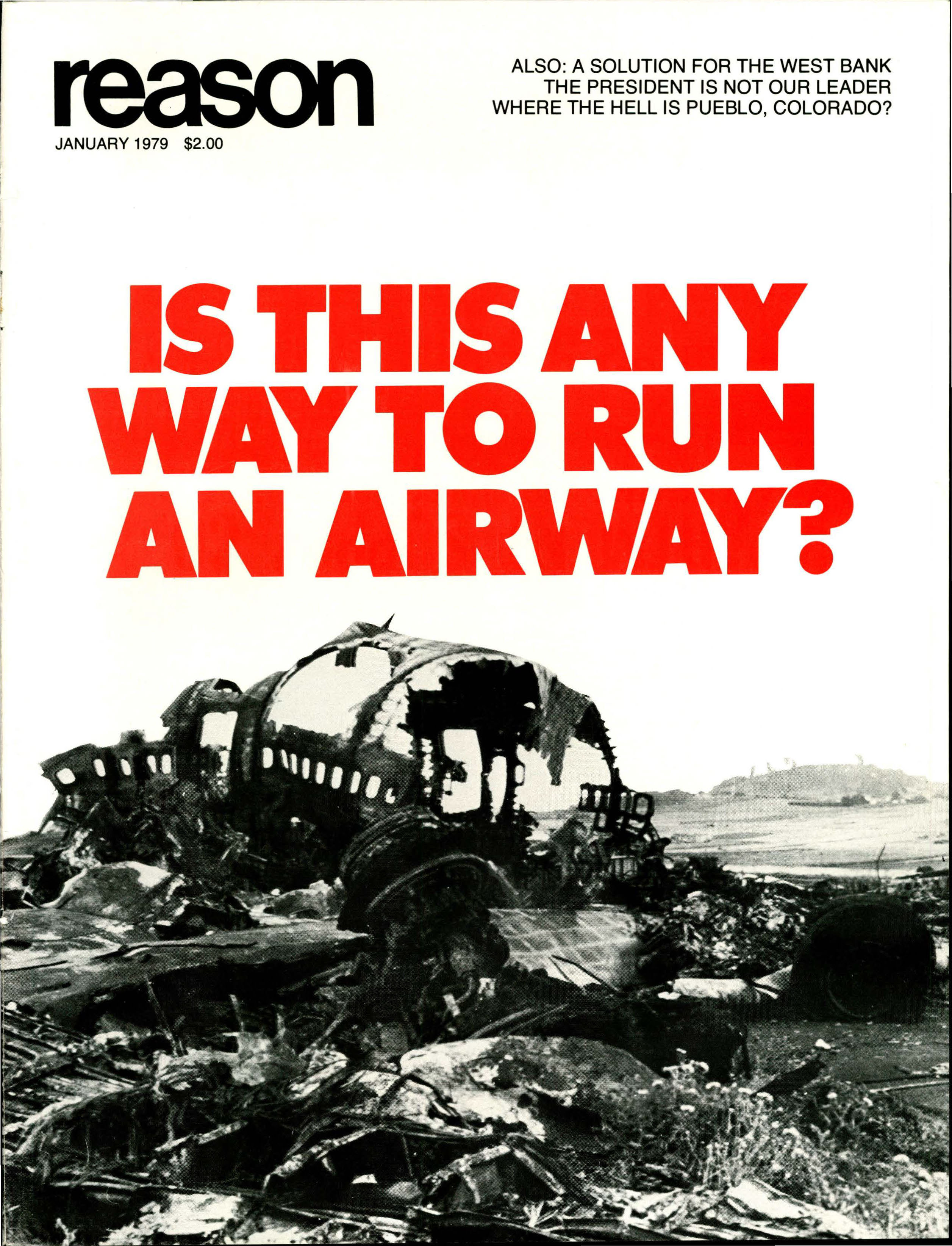 Reason Magazine, January 1979 cover image