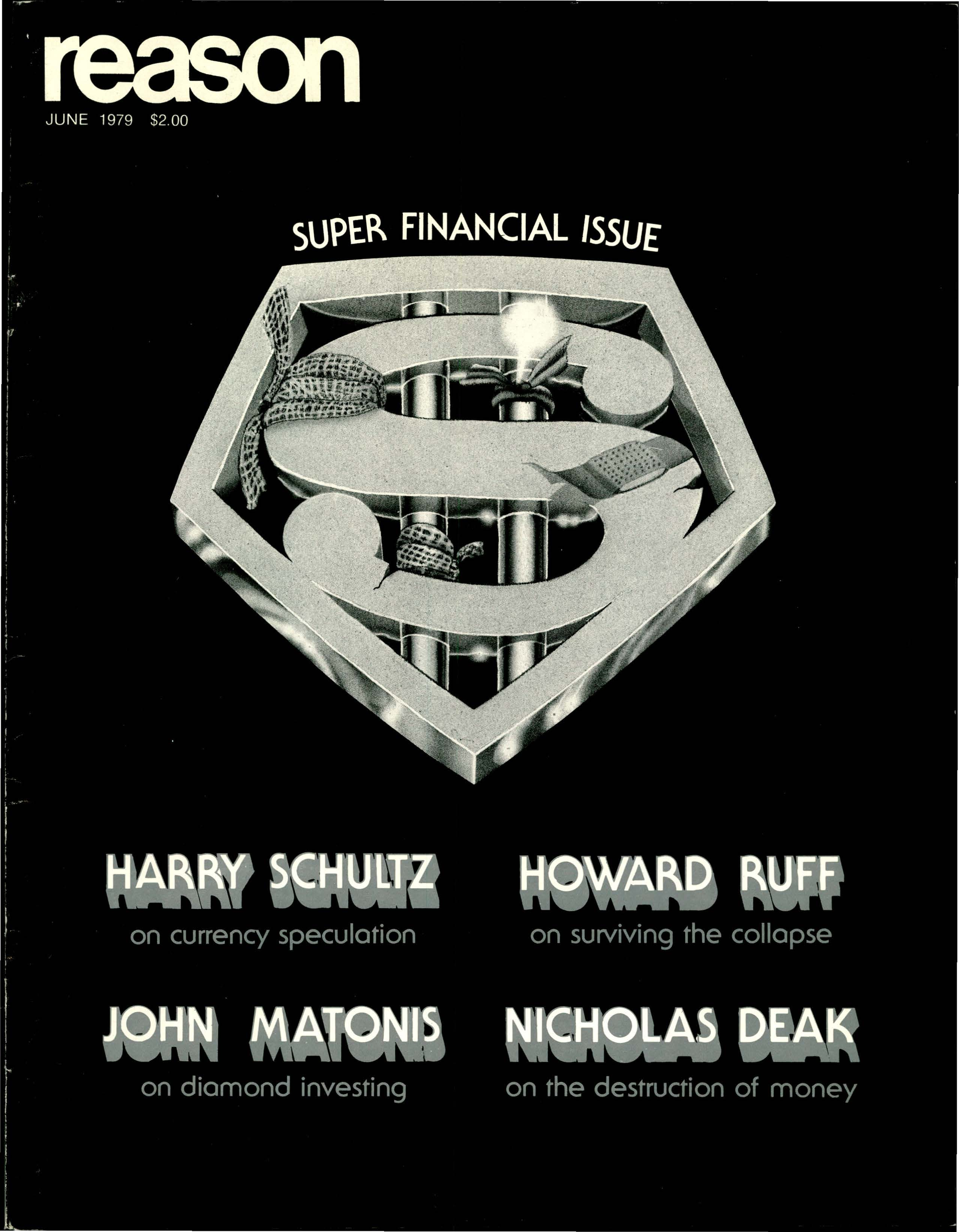 Reason Magazine, June 1979 cover image