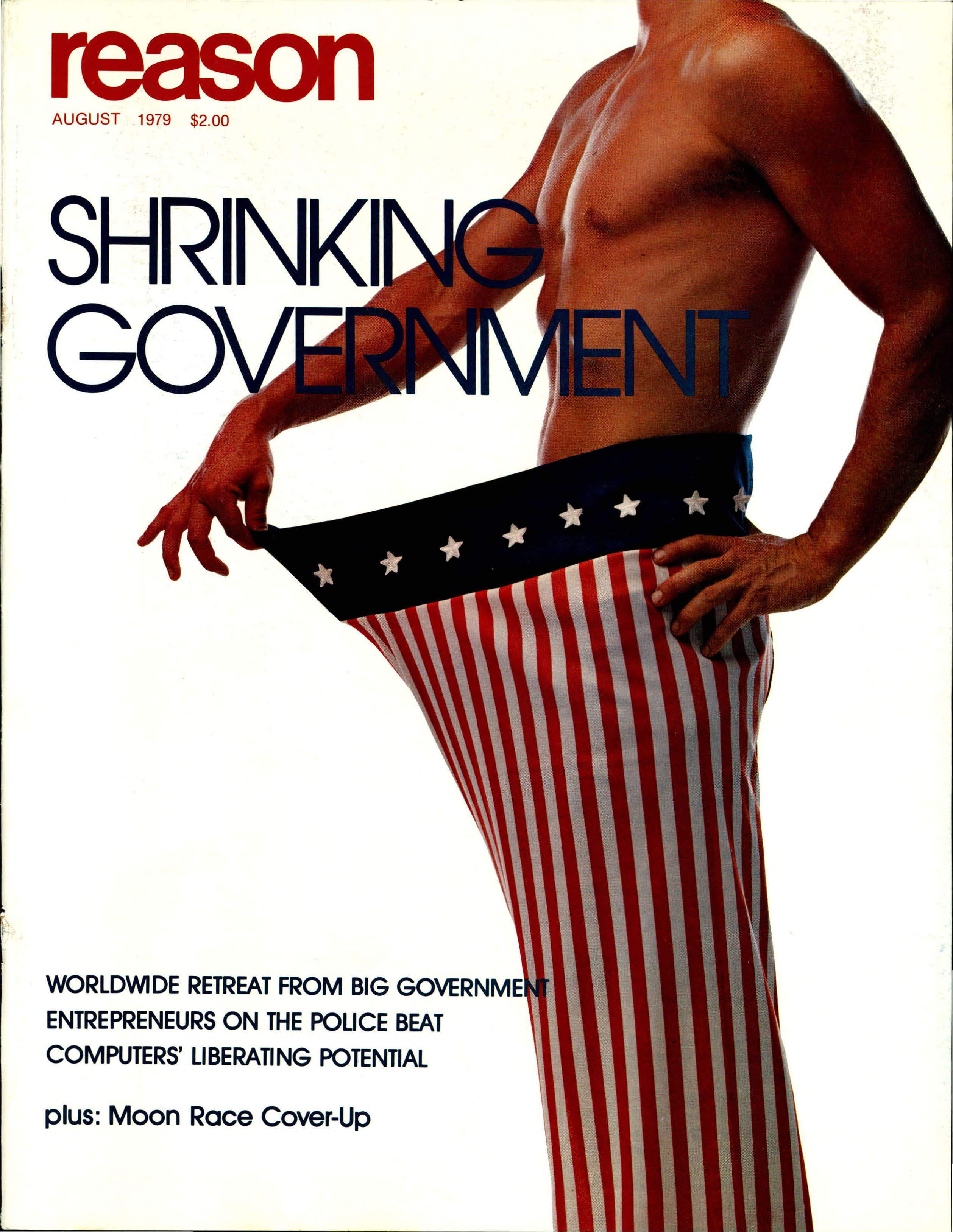 Reason Magazine, August 1979 cover image