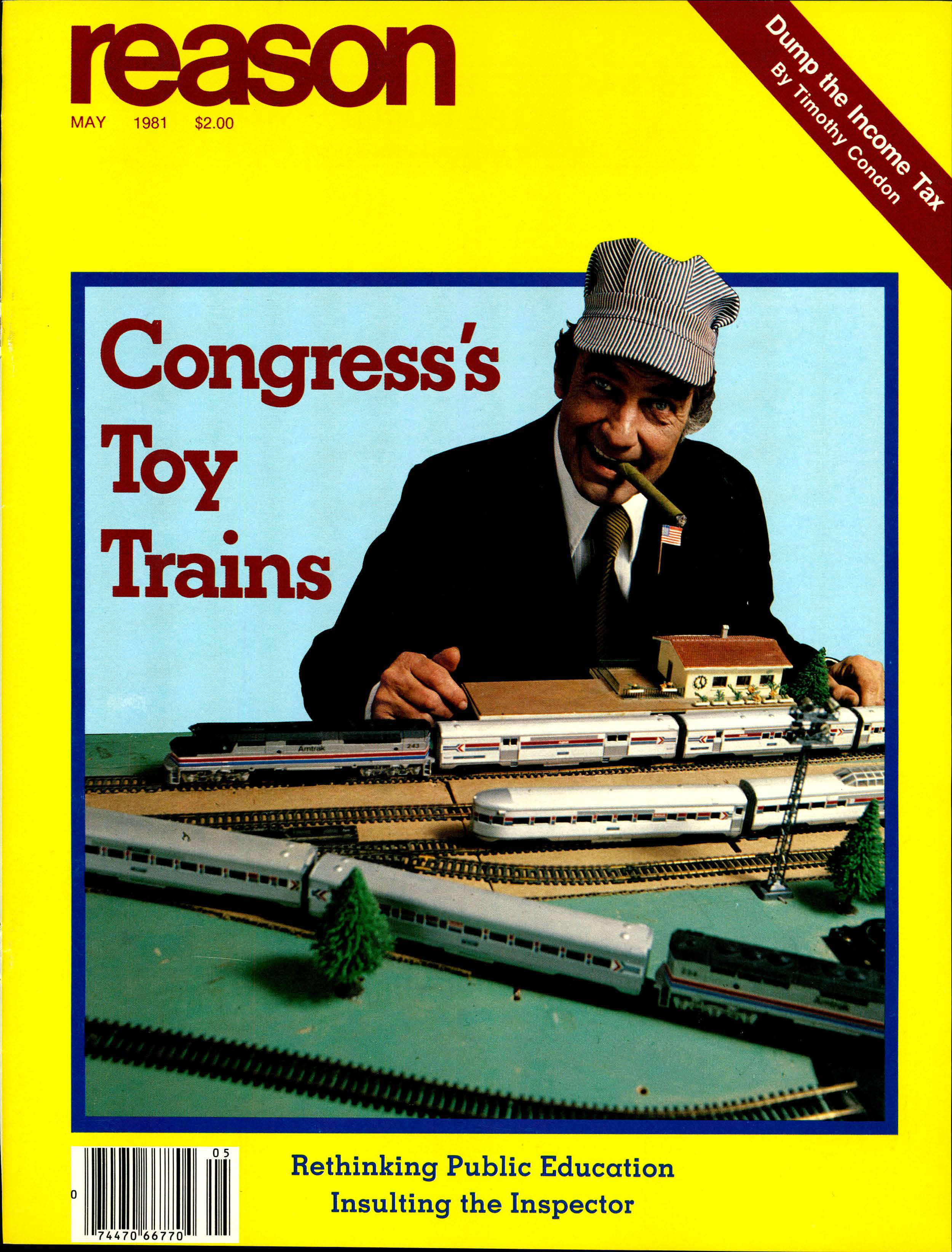 Reason Magazine, May 1981 cover image
