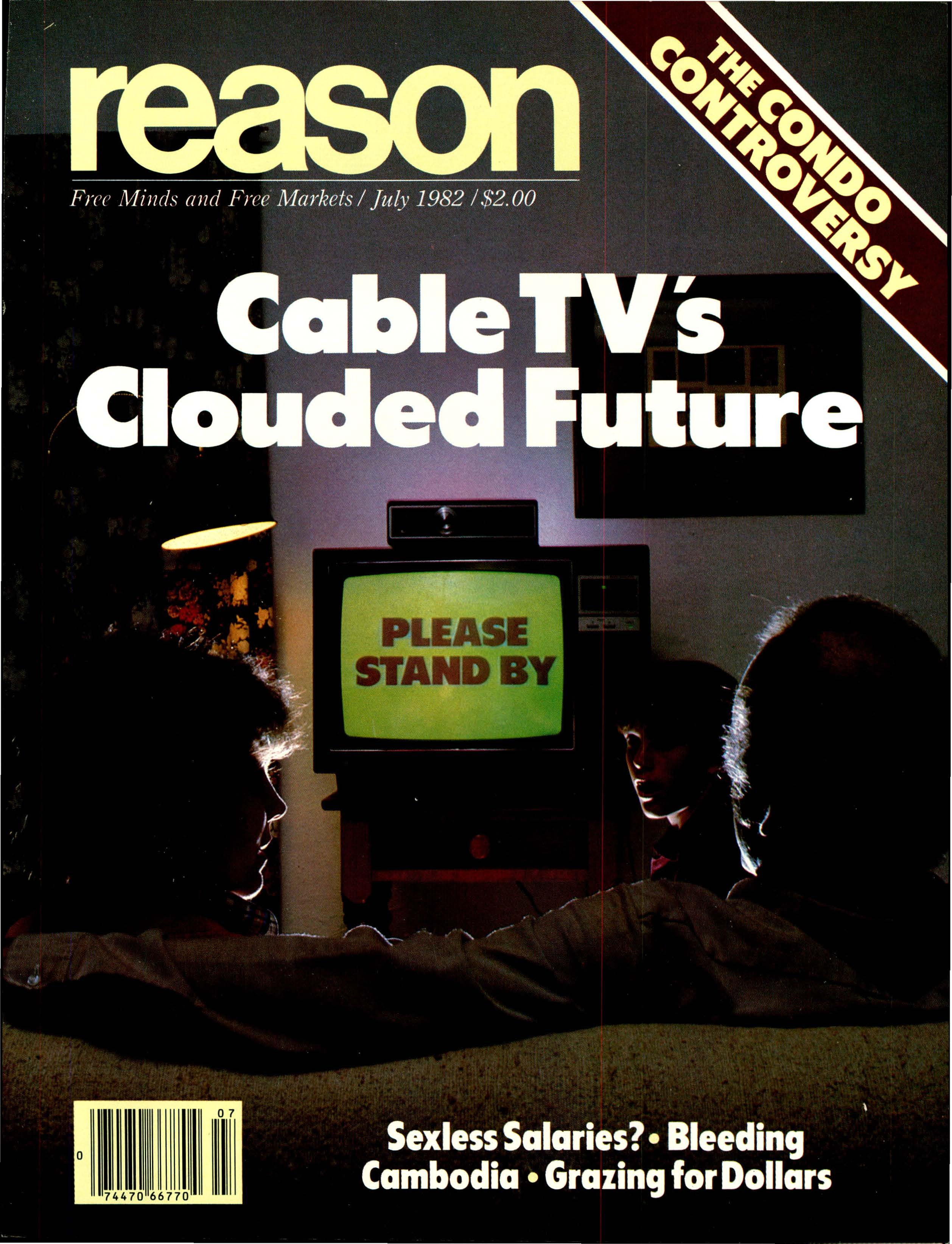Reason Magazine, July 1982 cover image
