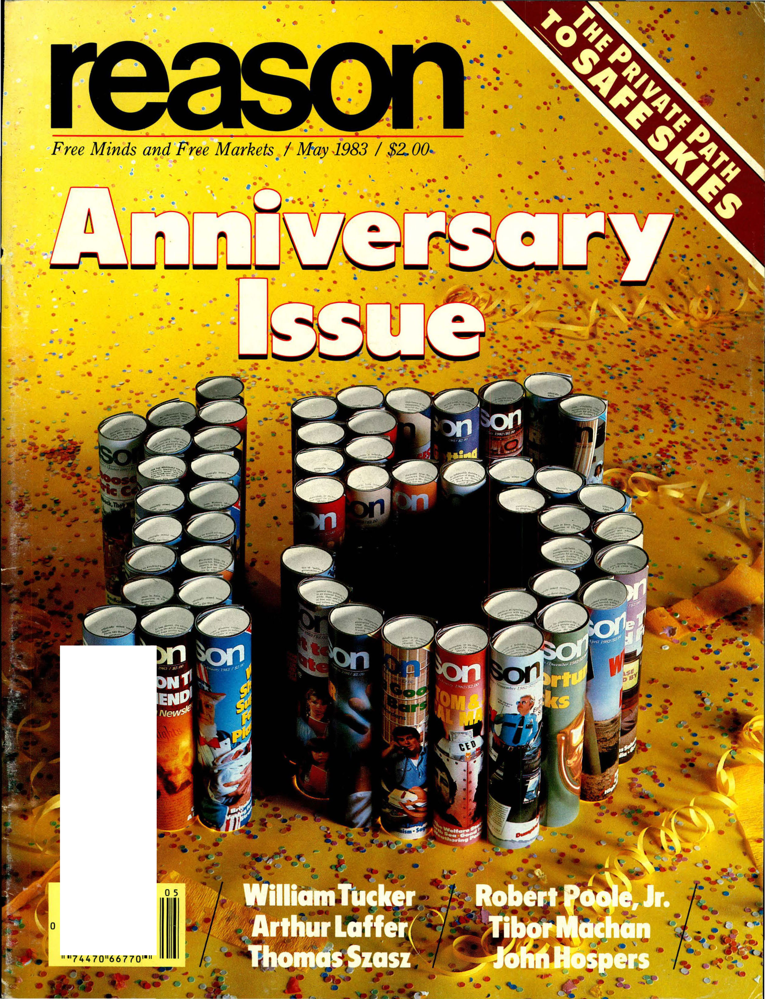 Reason Magazine, May 1983 cover image