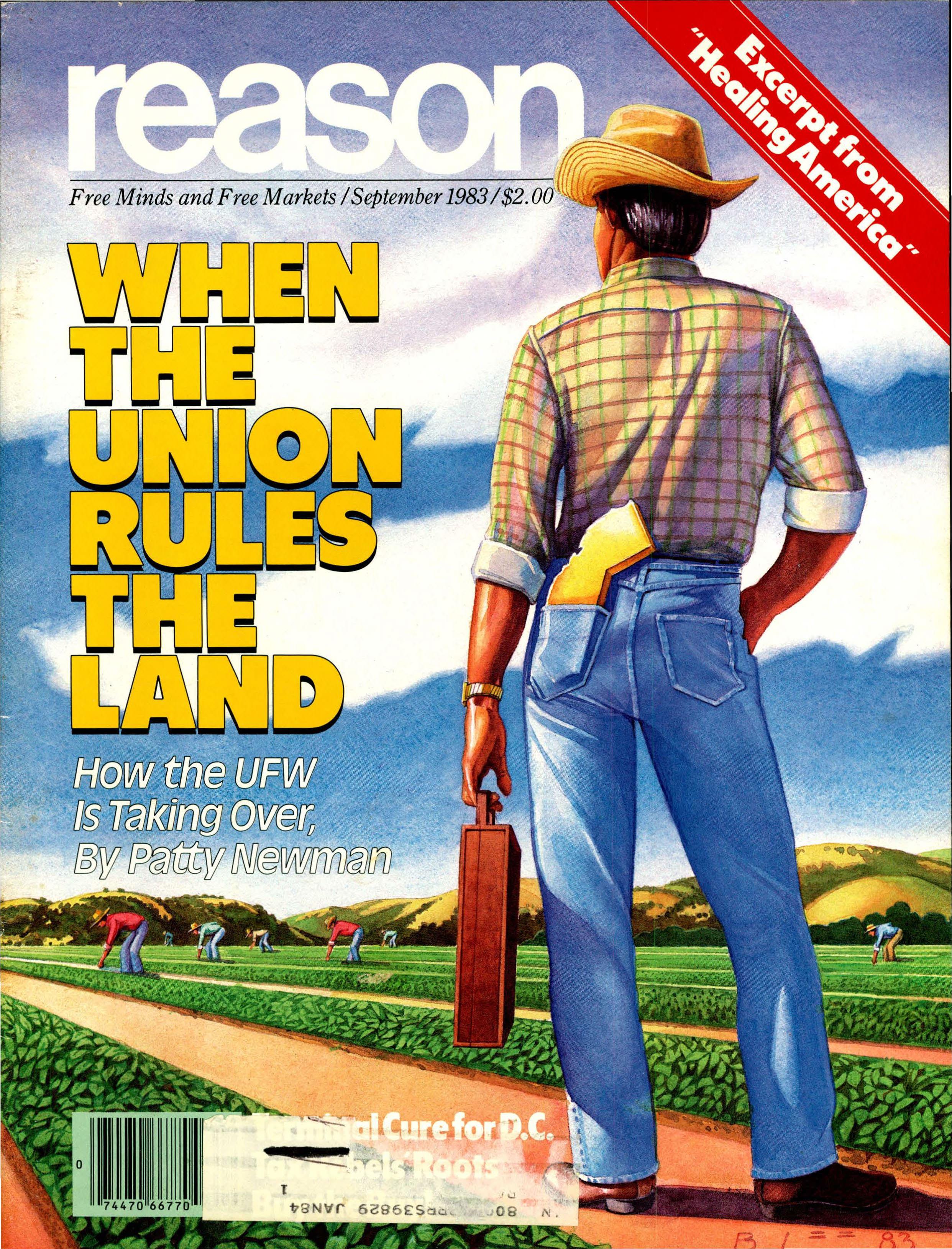 Reason Magazine, September 1983 cover image