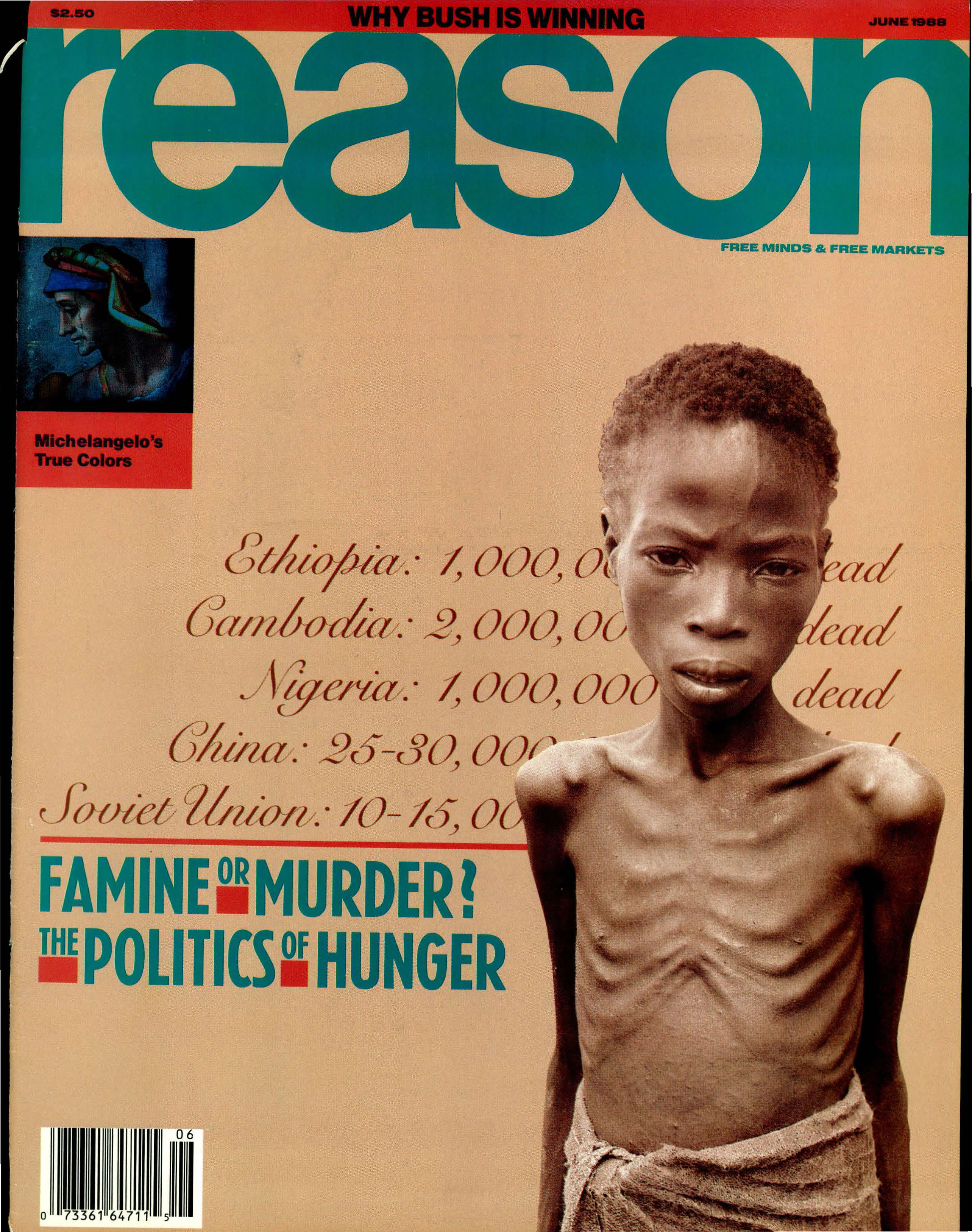 Reason Magazine, June 1988 cover image