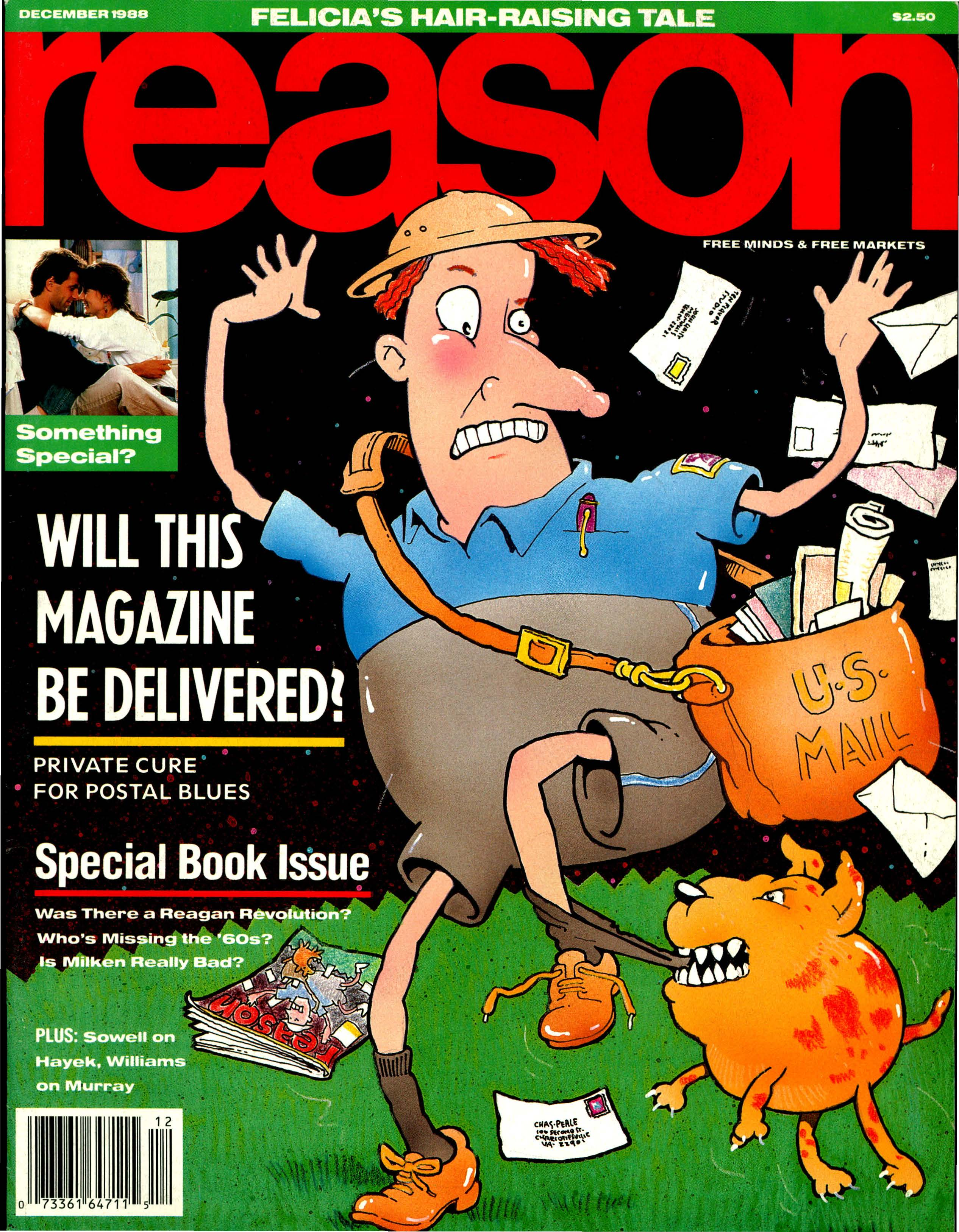 Reason Magazine, December 1988 cover image