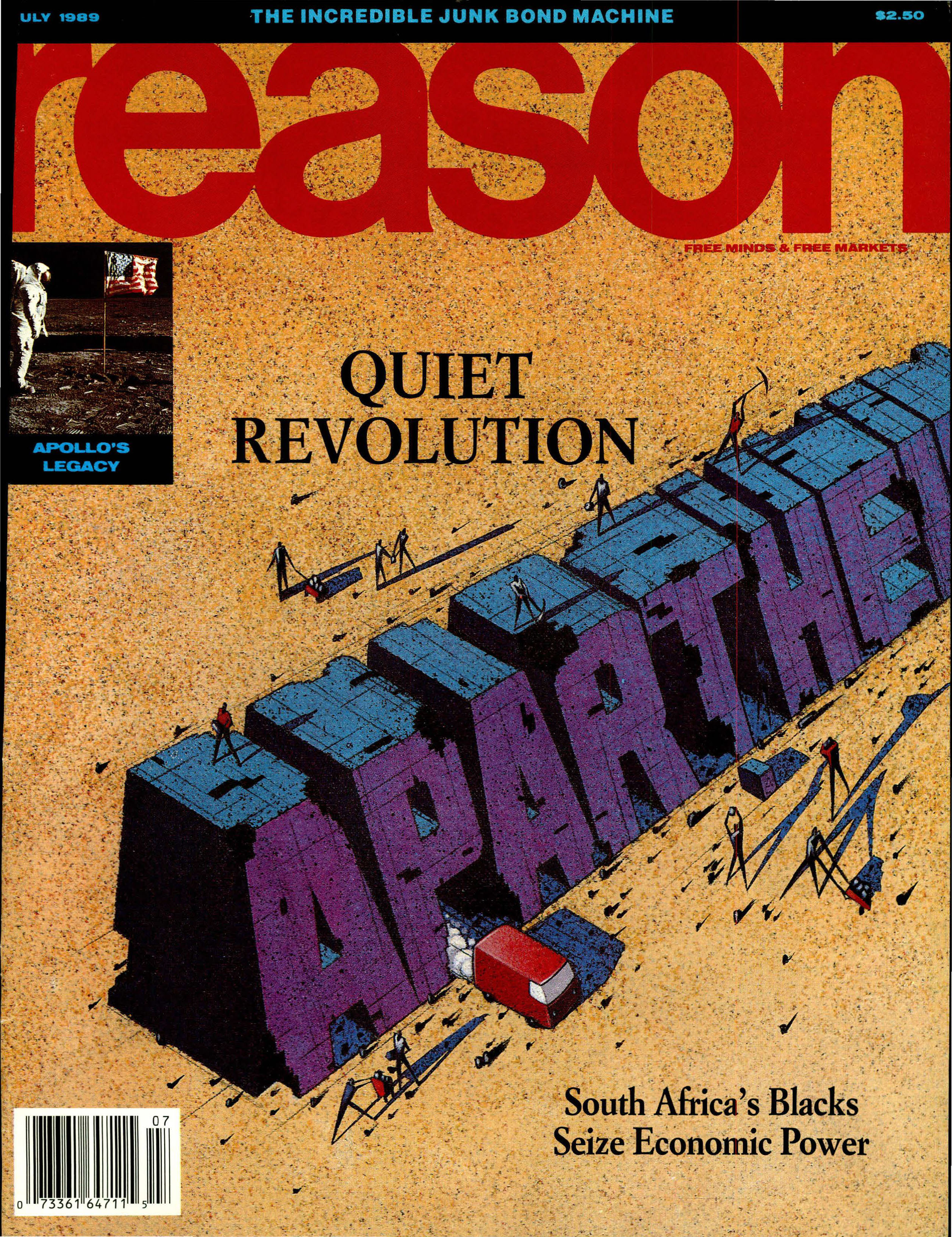 Reason Magazine, July 1989 cover image