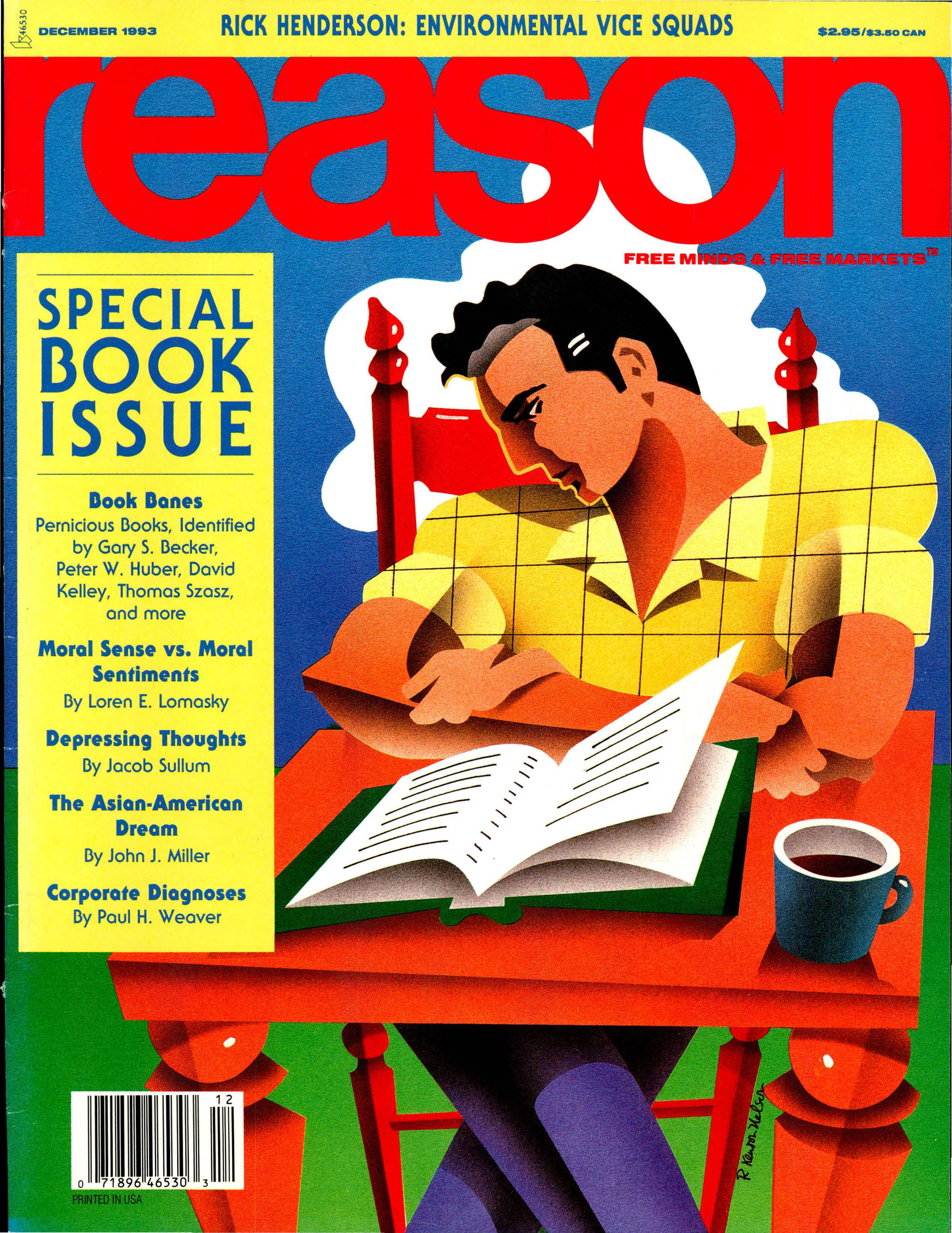 Reason Magazine, December 1993 cover image
