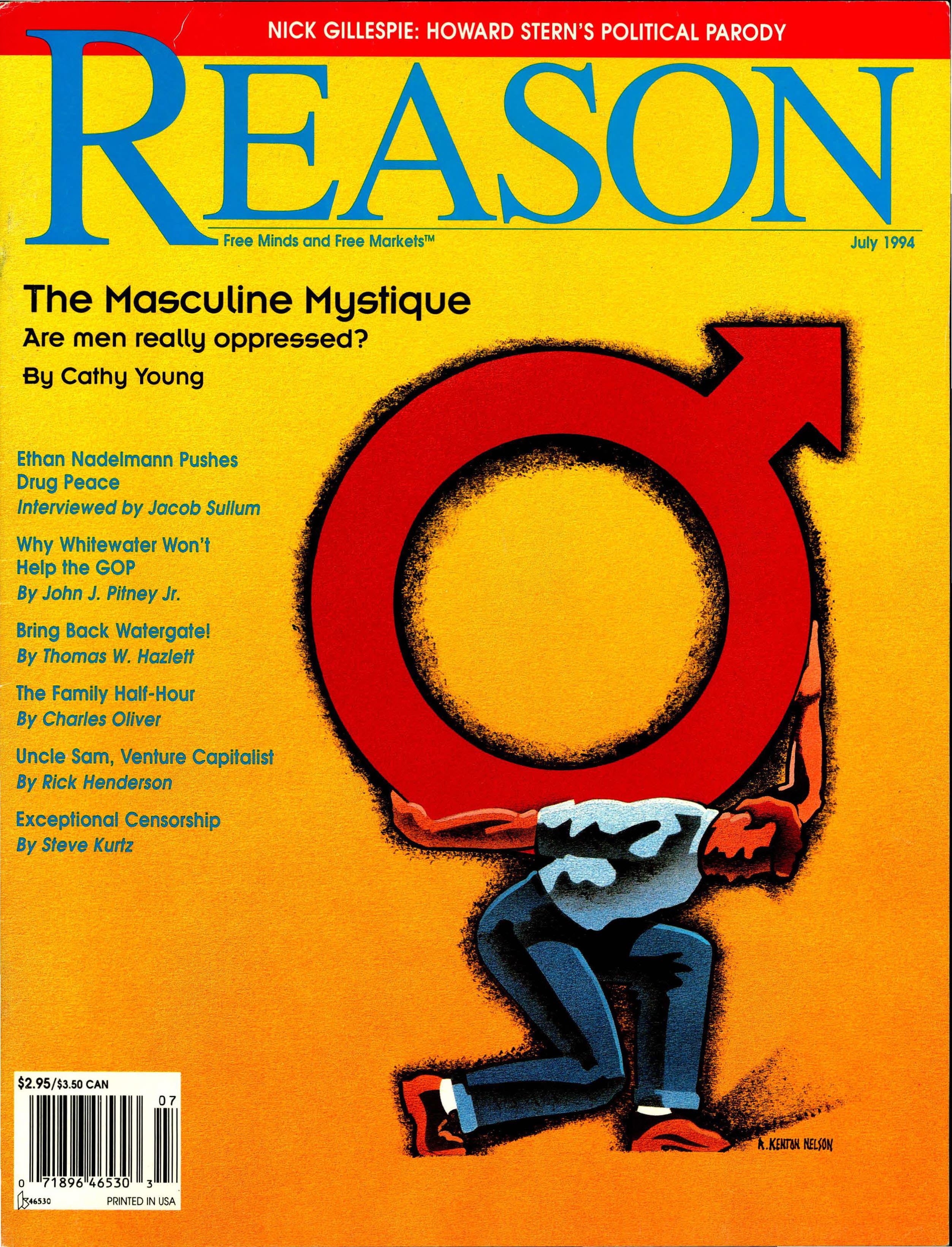 Reason Magazine, July 1994 cover image