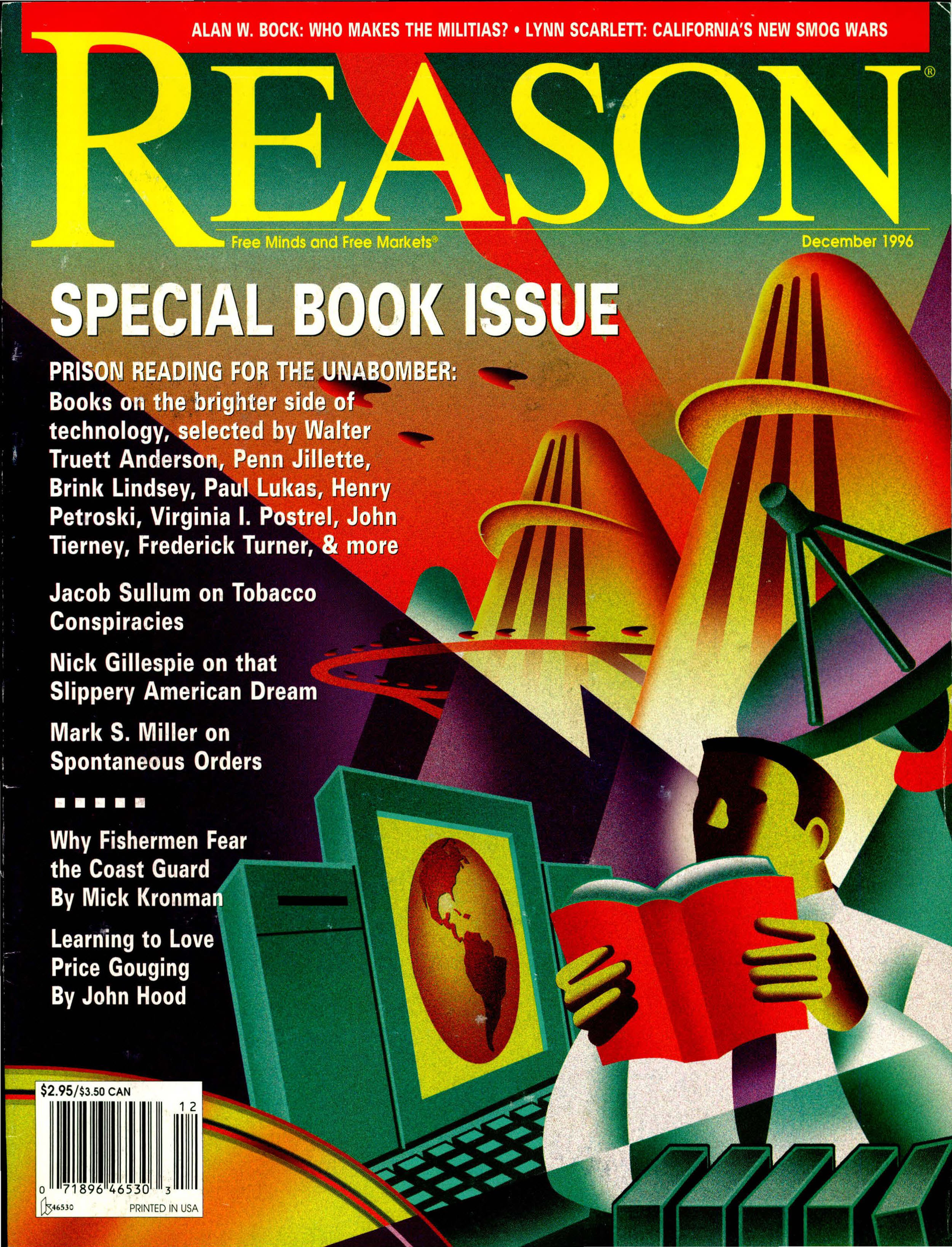 Reason Magazine, December 1996 cover image