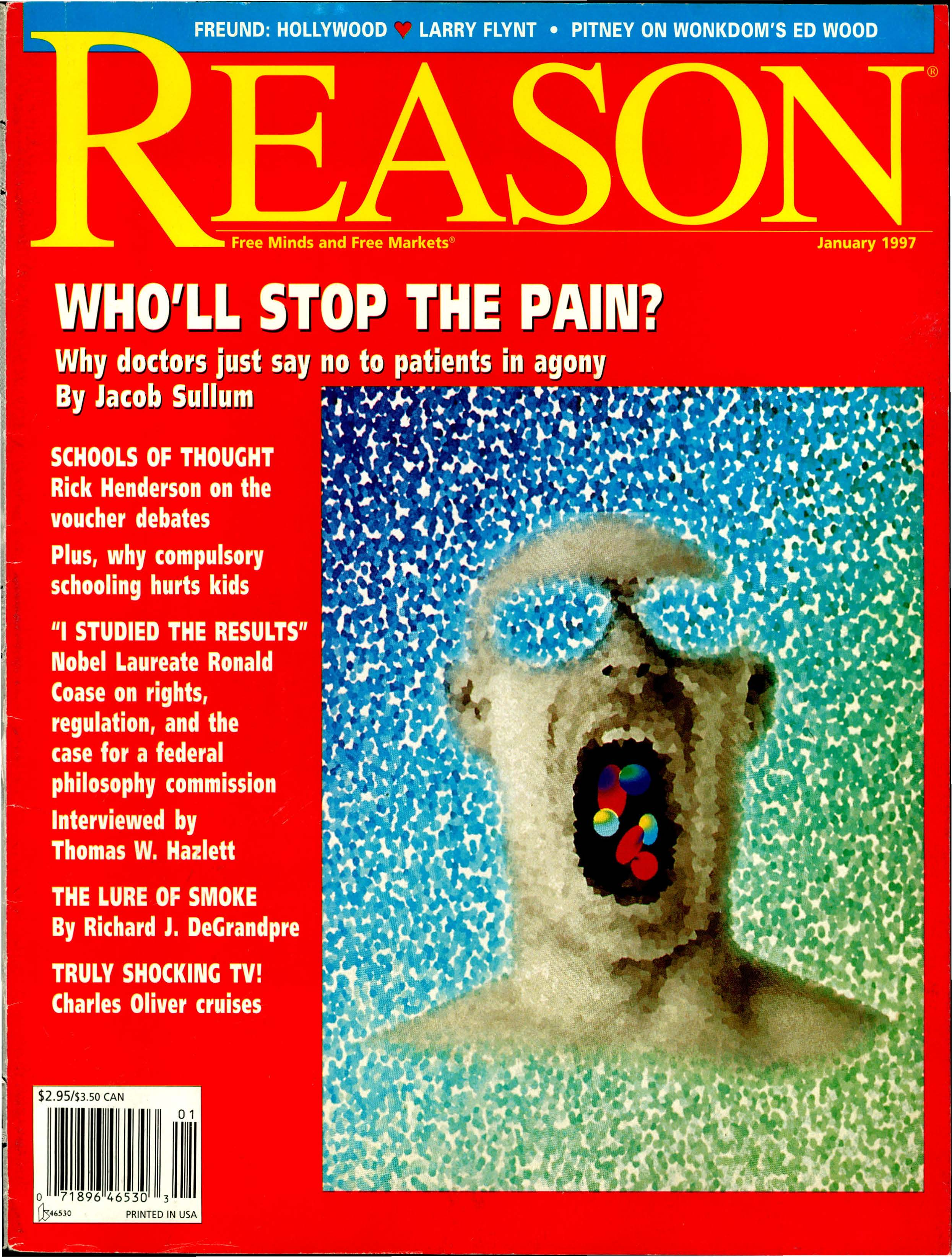 Reason Magazine, January 1997 cover image