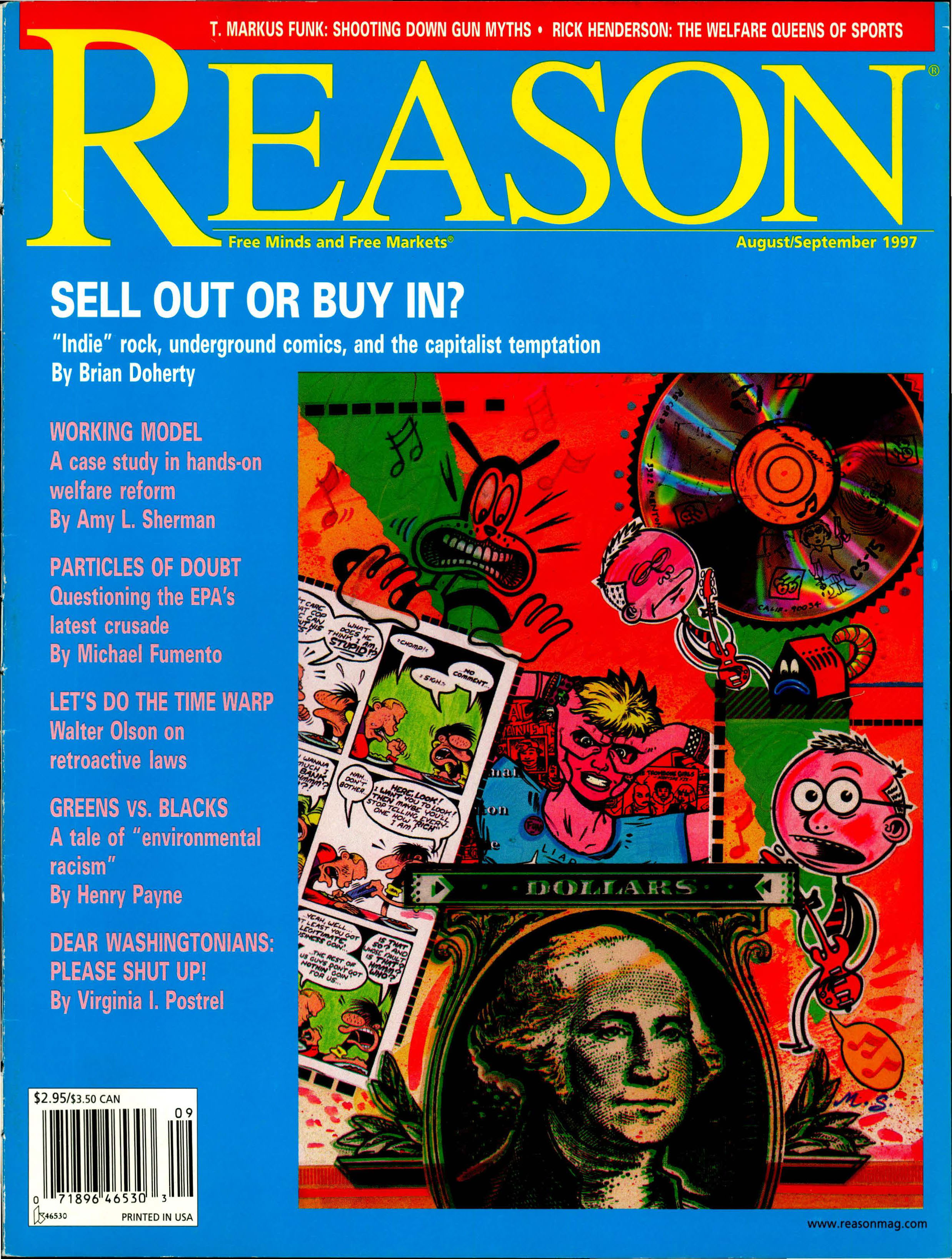 Reason Magazine, August/September 1997 cover image
