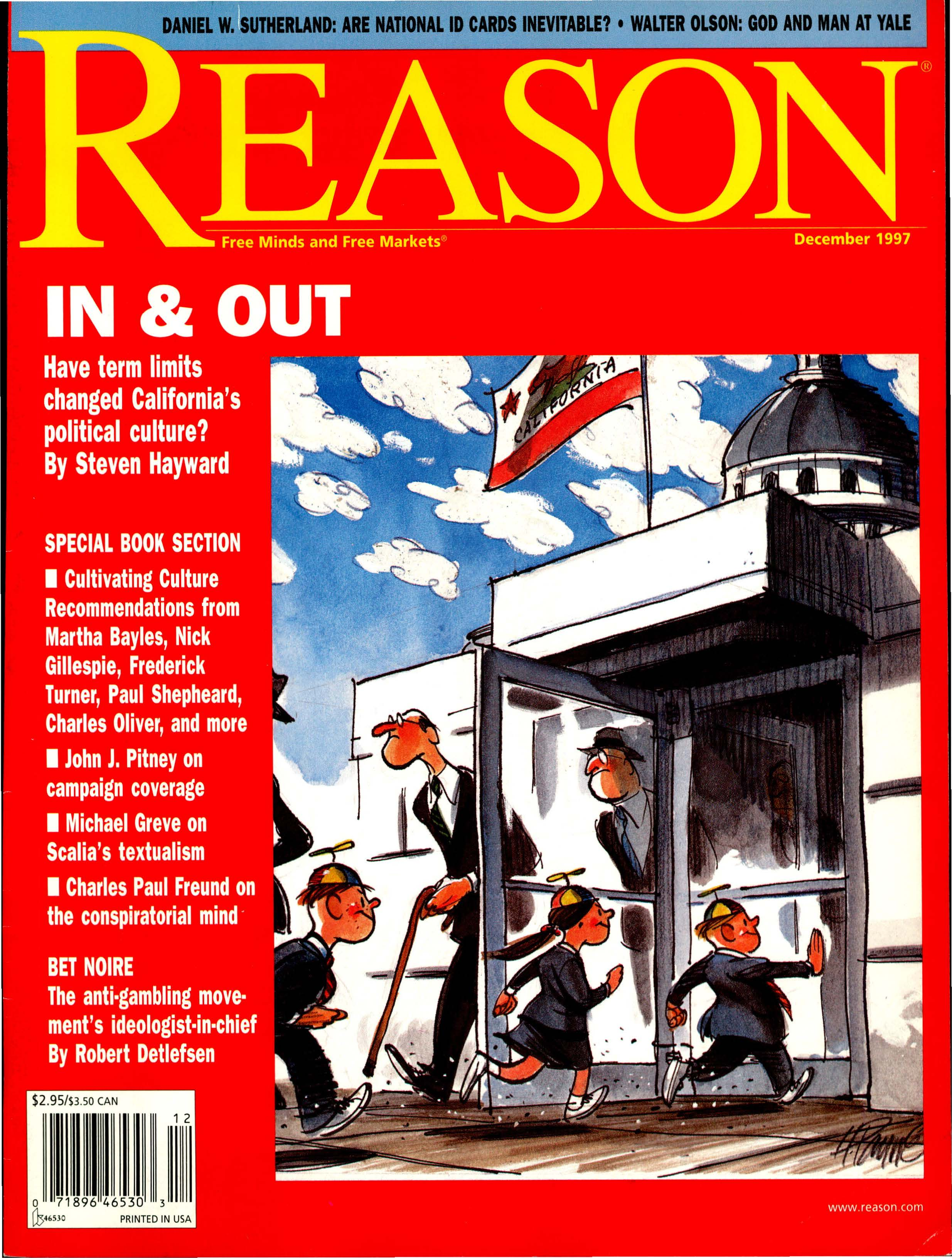 Reason Magazine, December 1997 cover image
