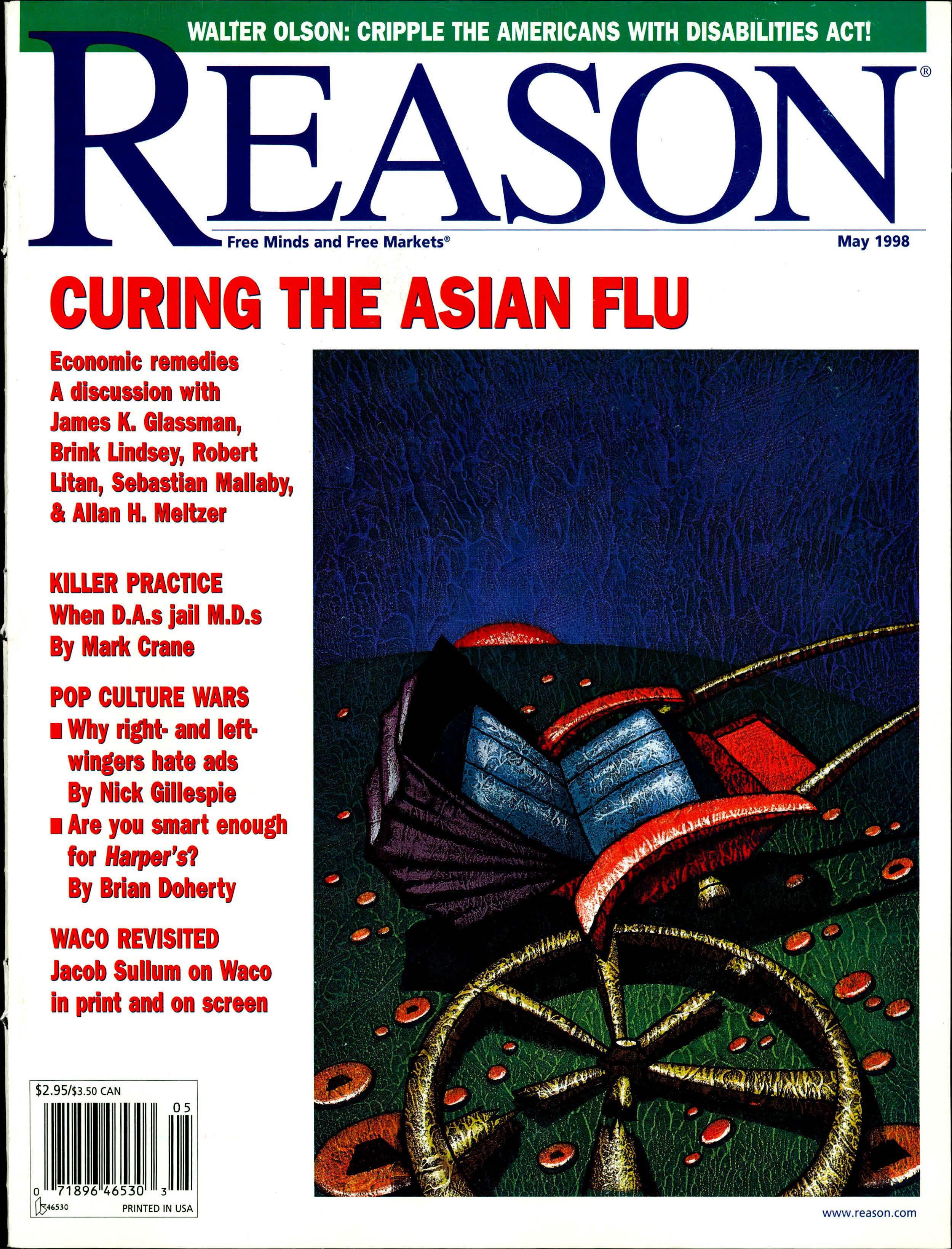 Reason Magazine, May 1998 cover image