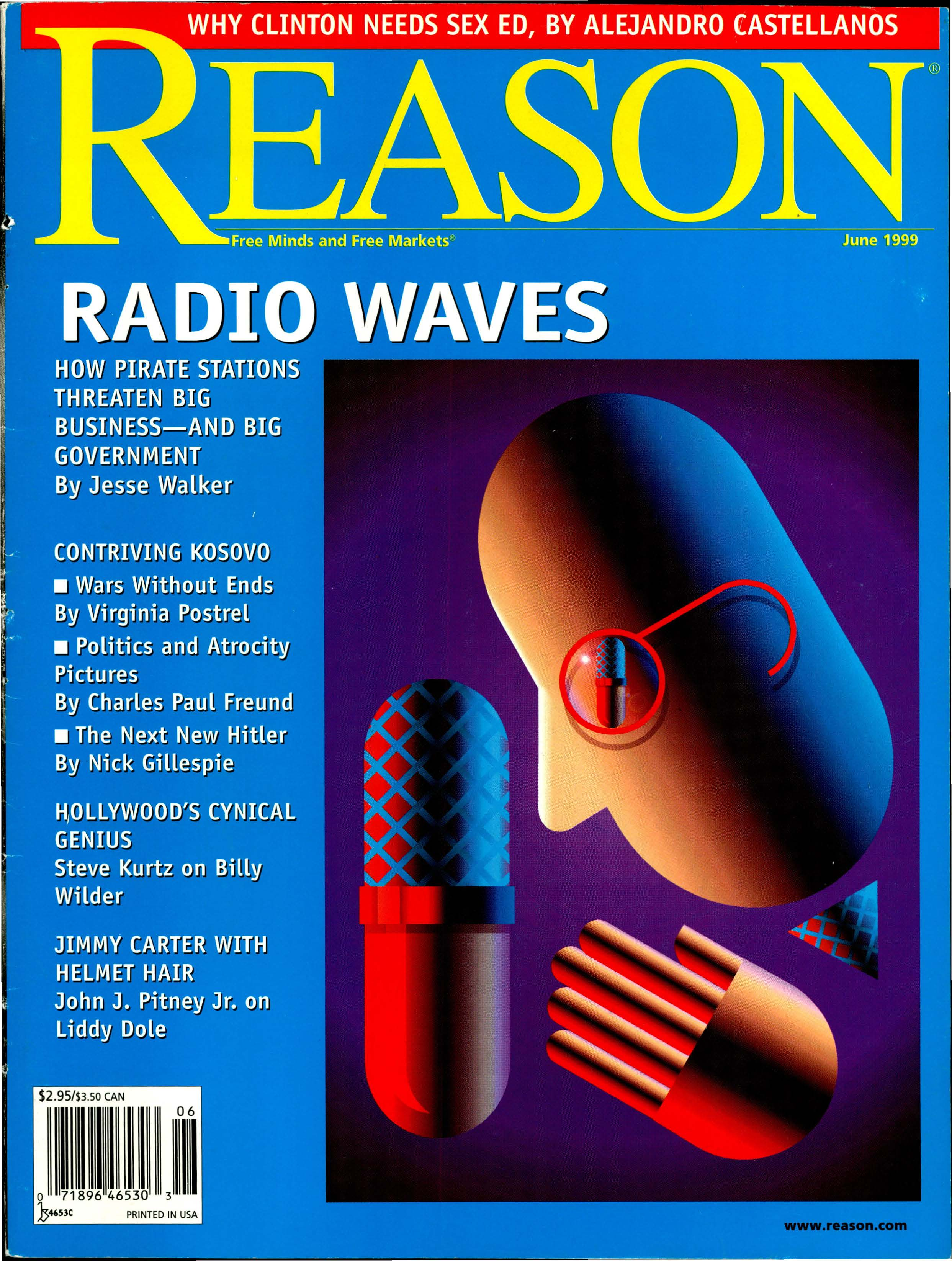 Reason Magazine, June 1999 cover image