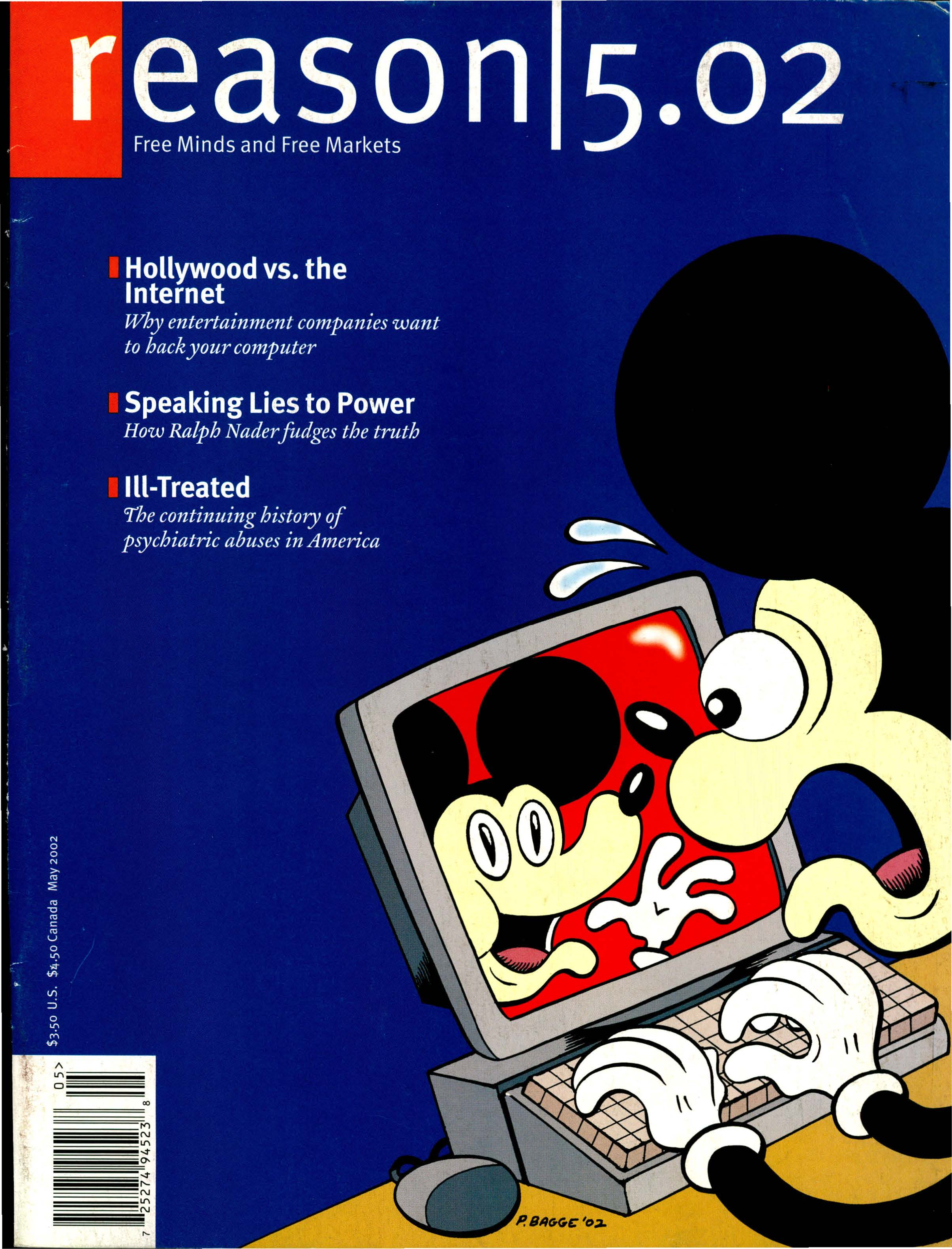 Reason Magazine, May 2002 cover image