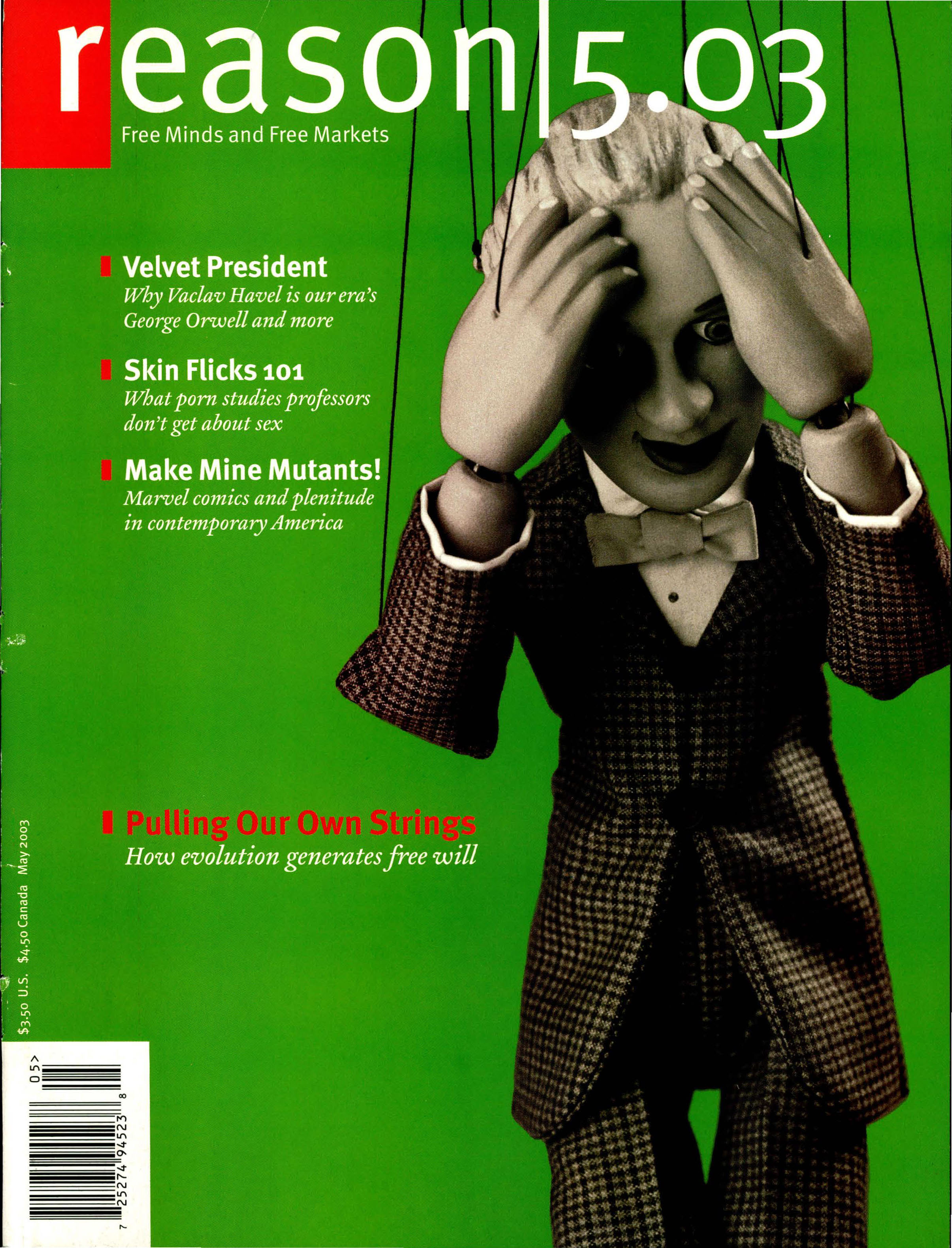 Reason Magazine, May 2003 cover image