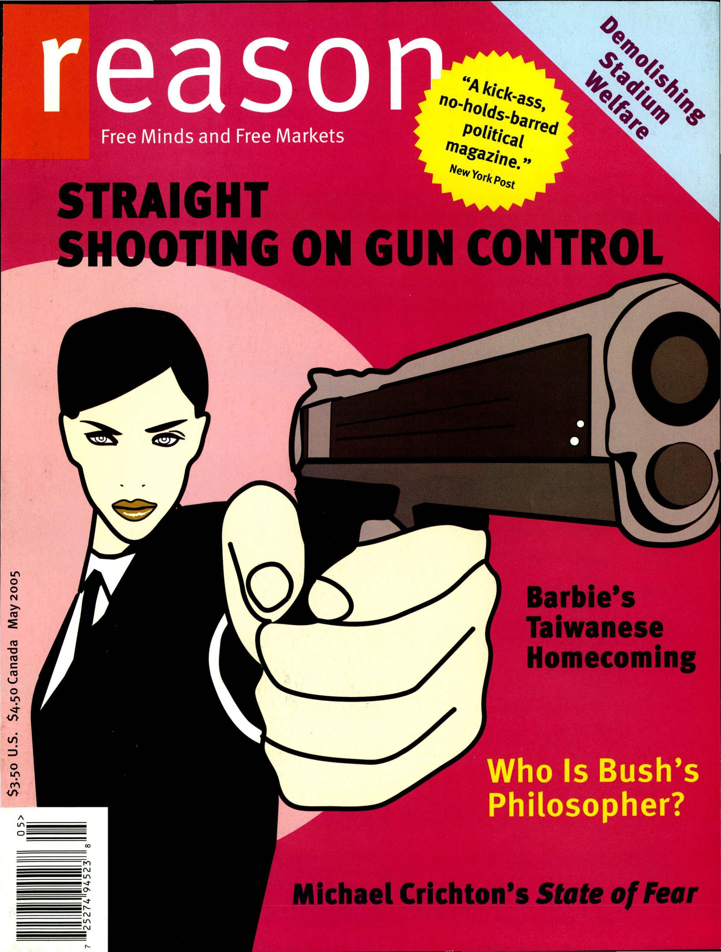 Reason Magazine, May 2005 cover image