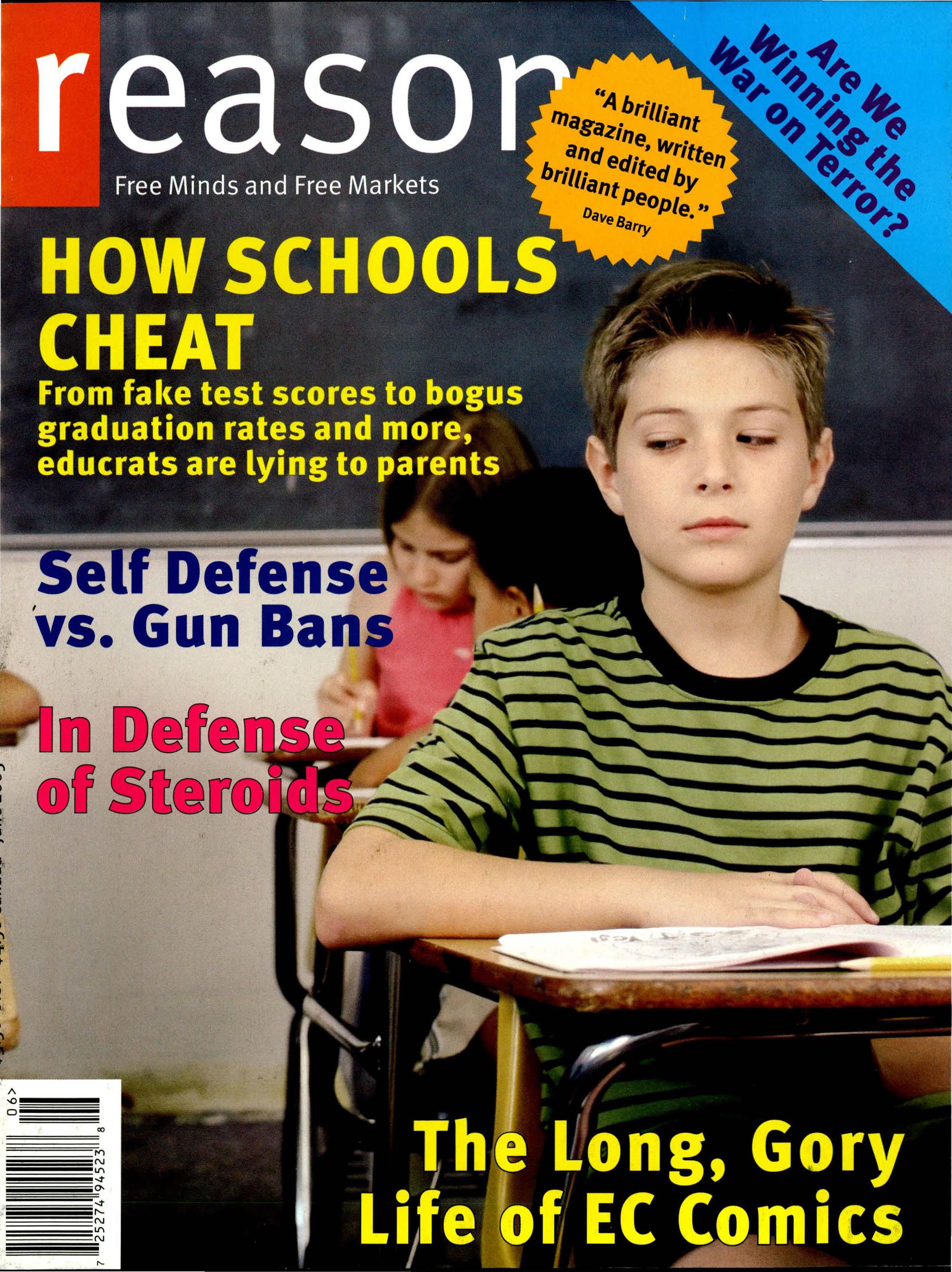 Reason Magazine, June 2005 cover image