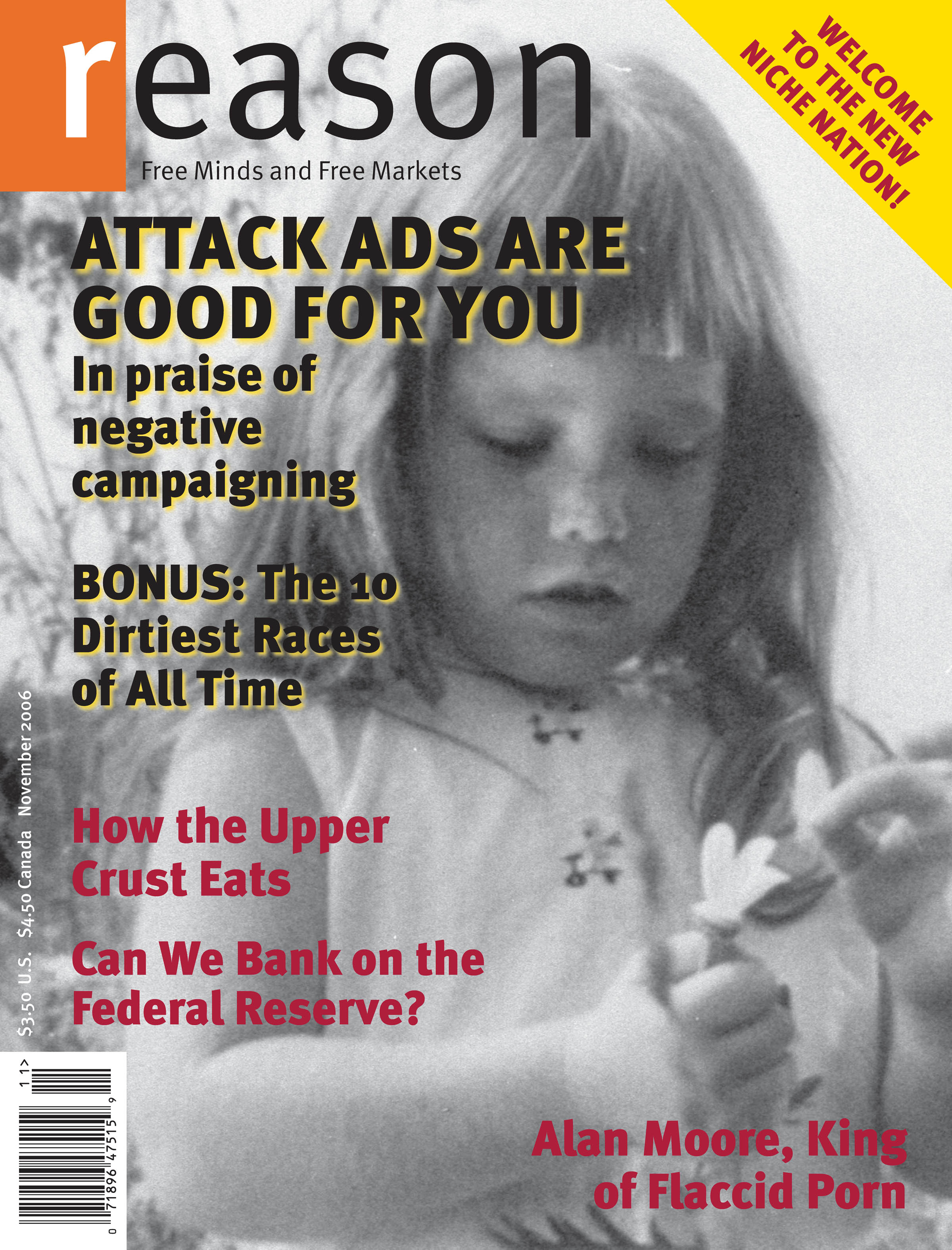 Reason Magazine, November 2006 cover image
