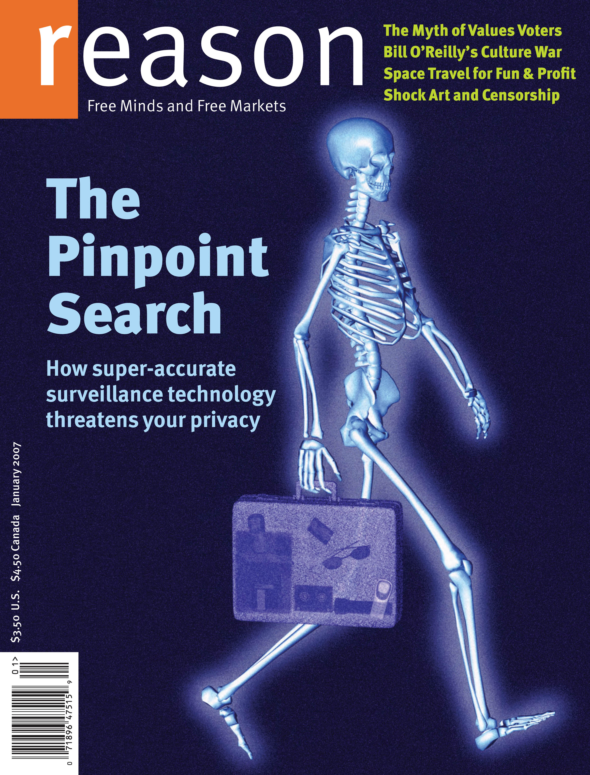 Reason Magazine, January 2007 cover image