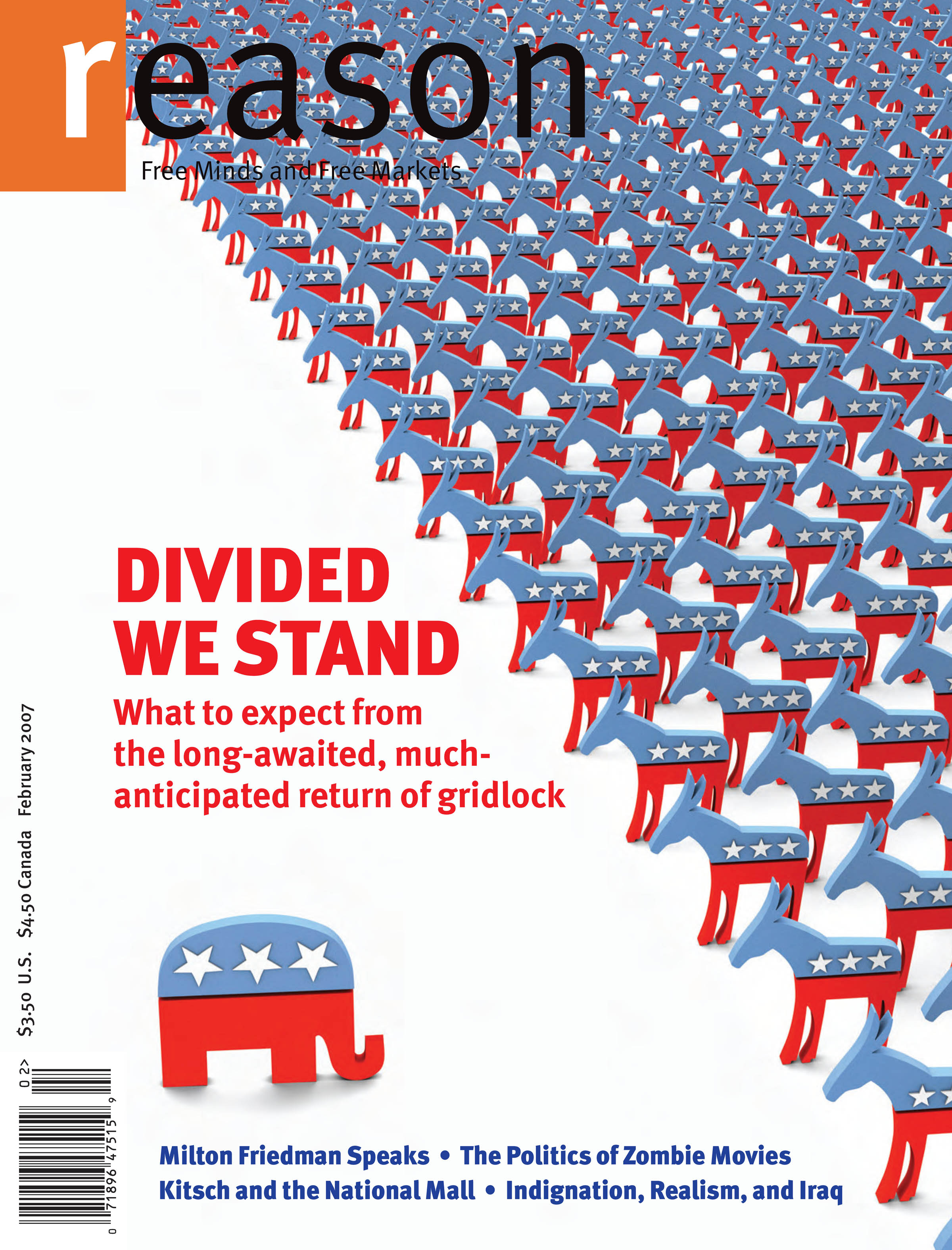 Reason Magazine, February 2007 cover image