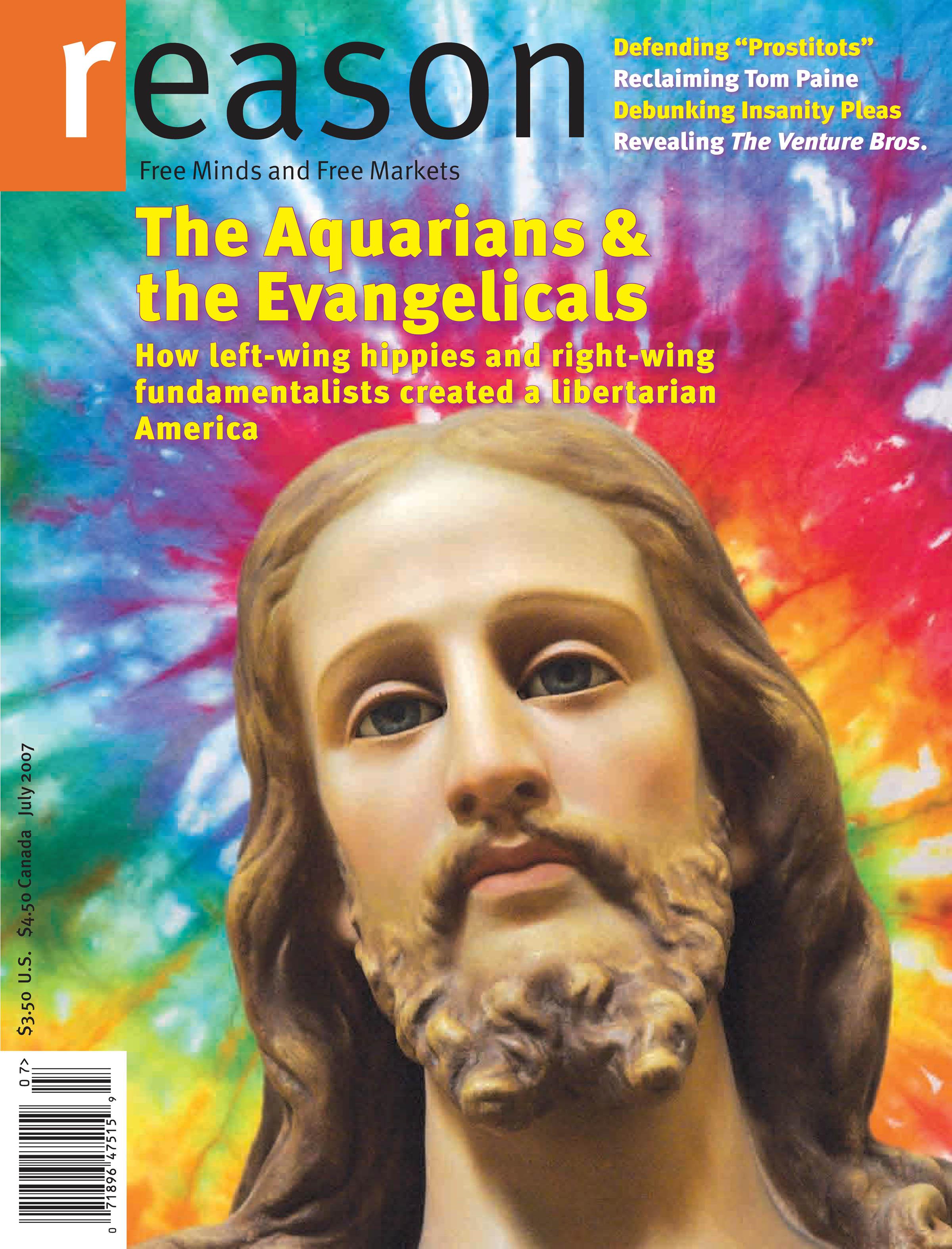Reason Magazine, July 2007 cover image