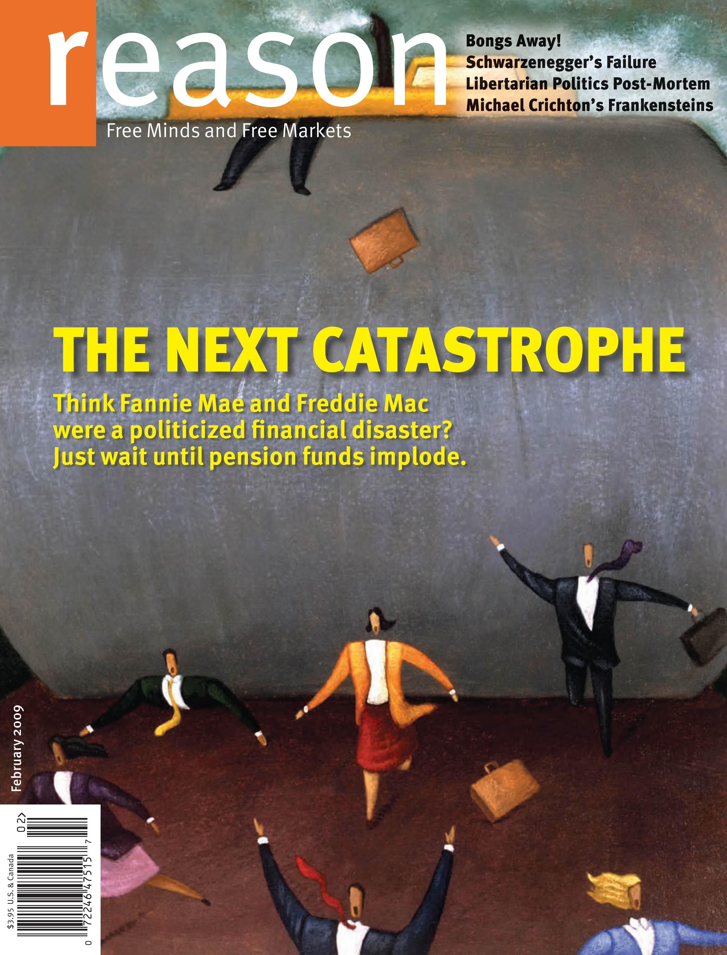 Reason Magazine, February 2009 cover image