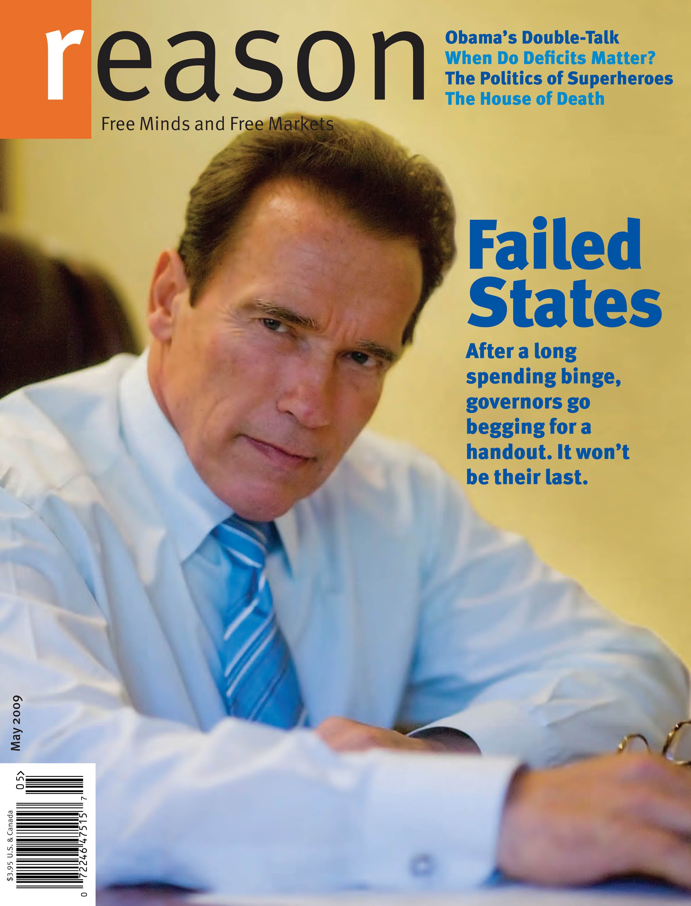 Reason Magazine, May 2009 cover image