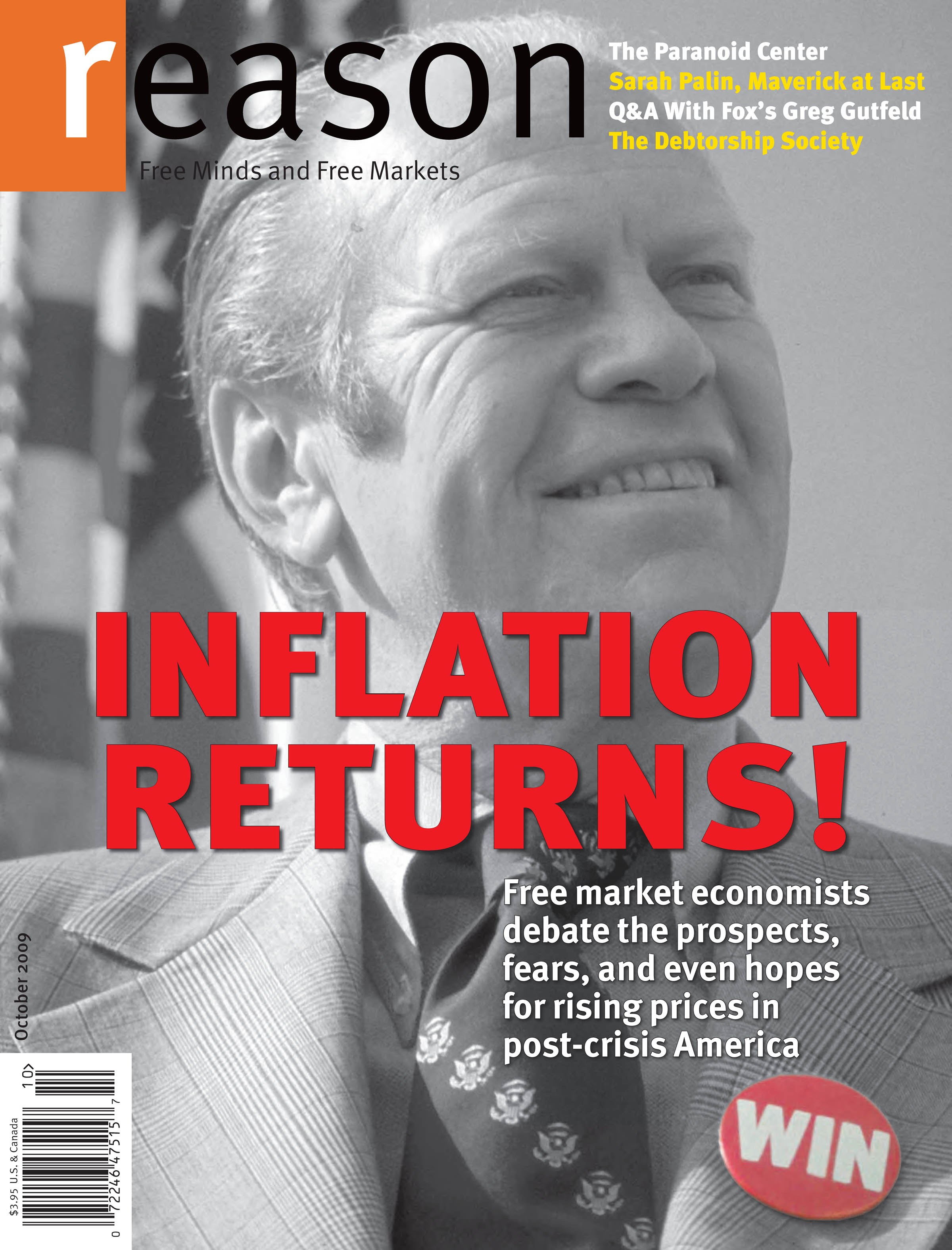 Reason Magazine, October 2009 cover image