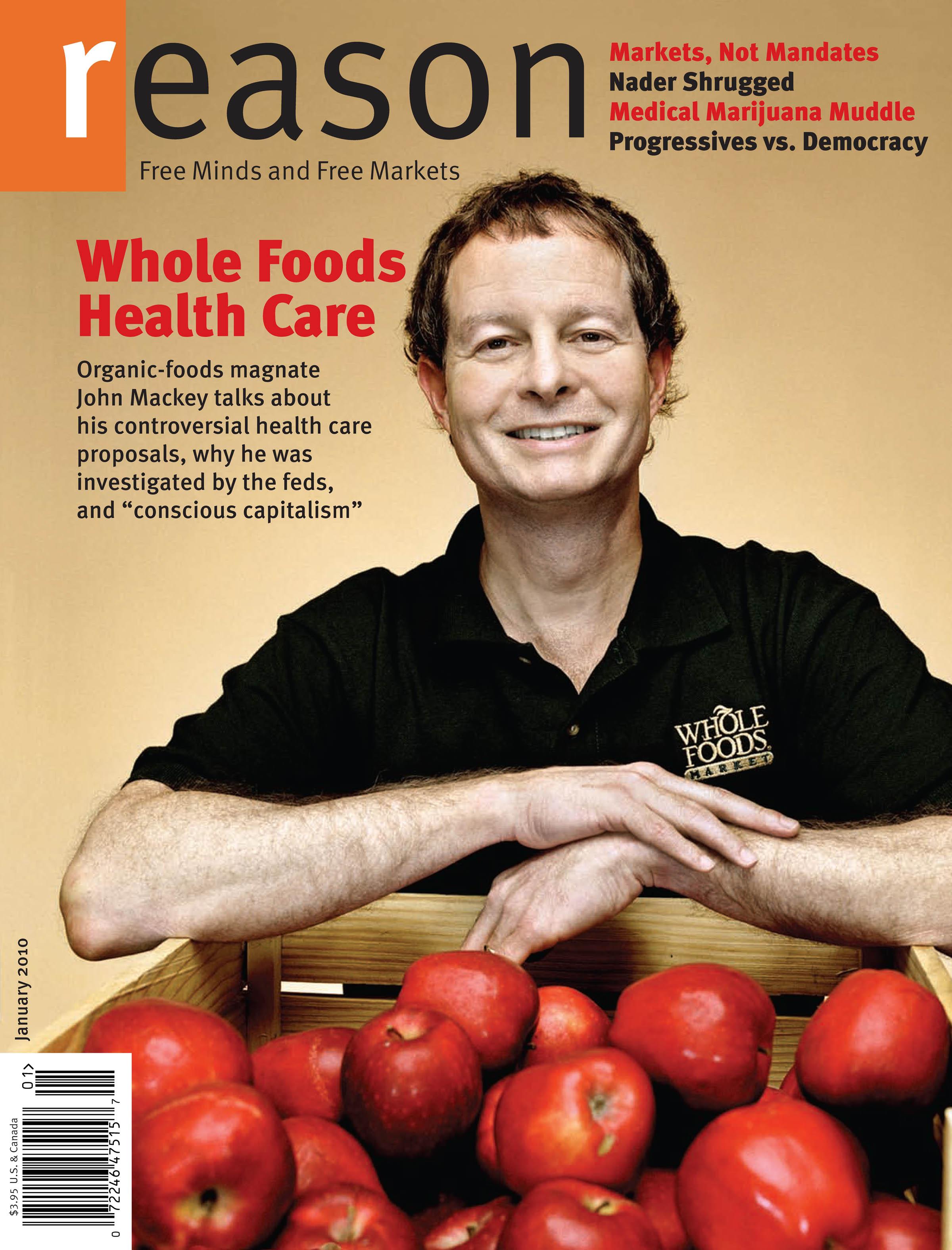 Reason Magazine, January 2010 cover image