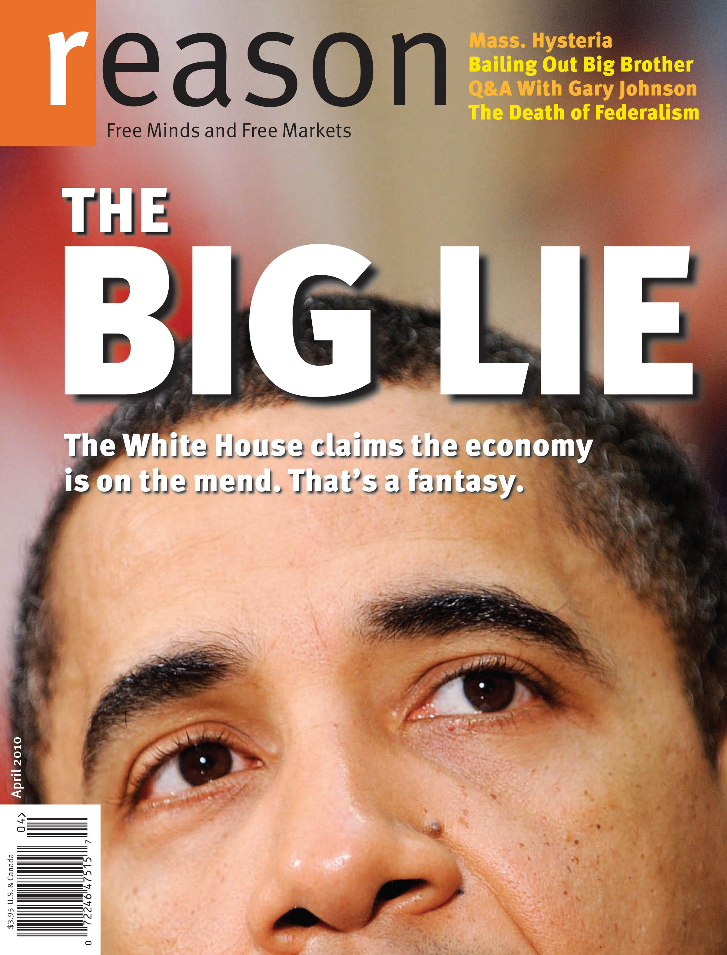 Reason Magazine, April 2010 cover image