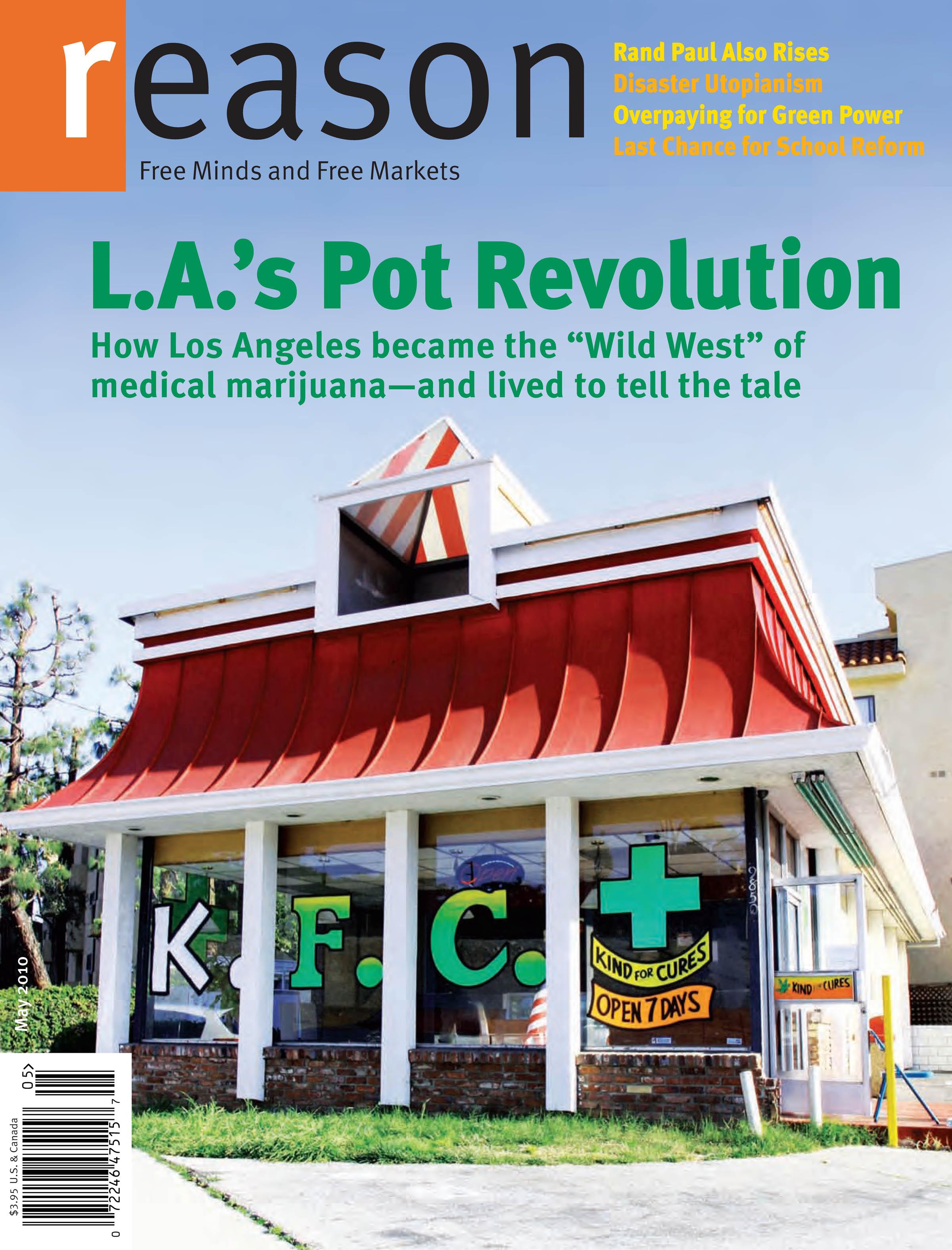 Reason Magazine, May 2010 cover image