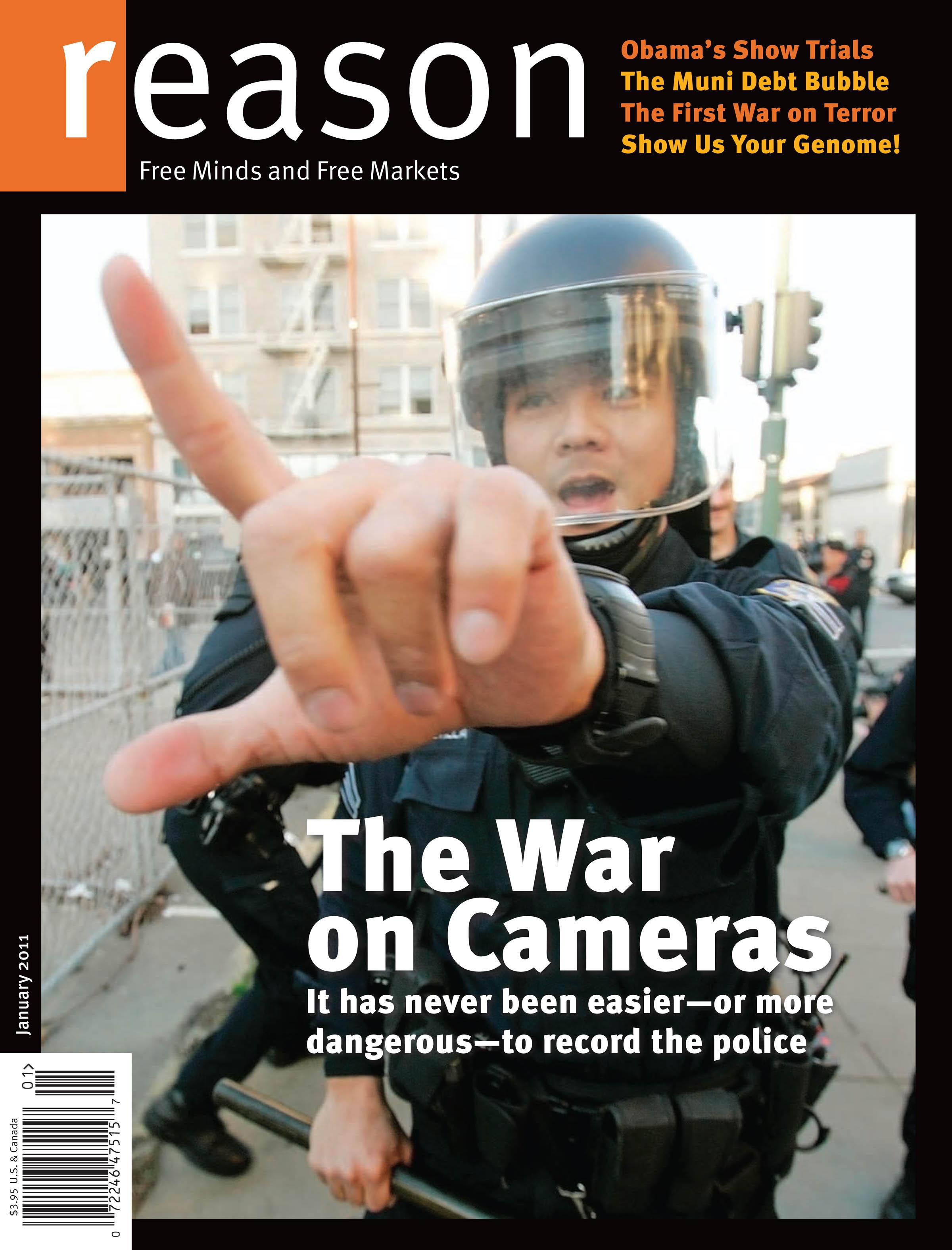 Reason Magazine, January 2011 cover image