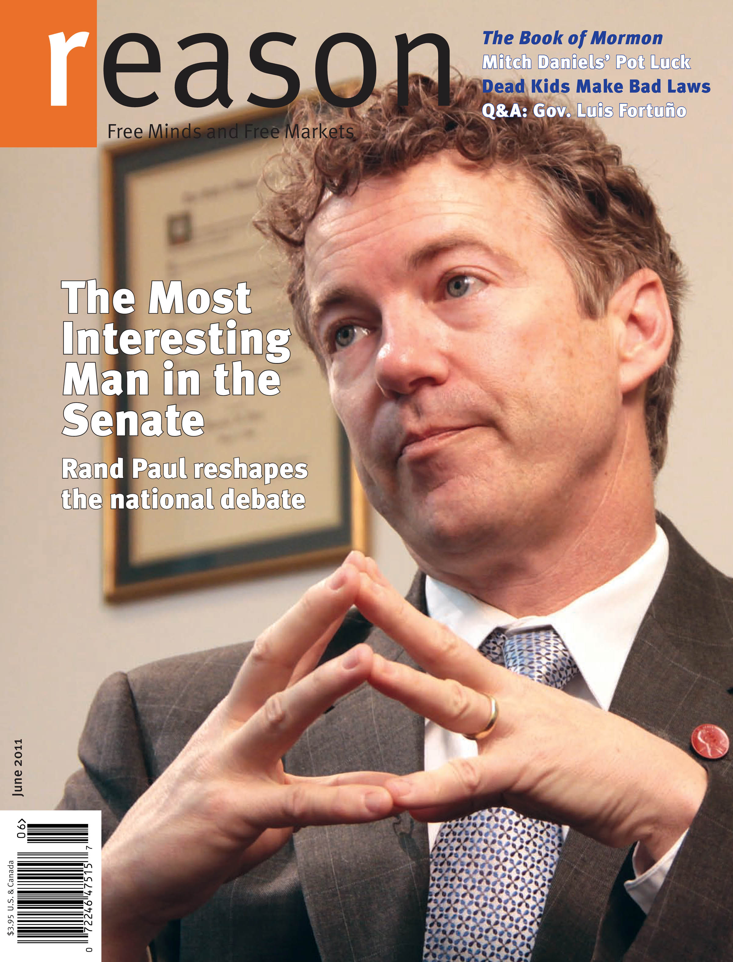 Reason Magazine, June 2011 cover image