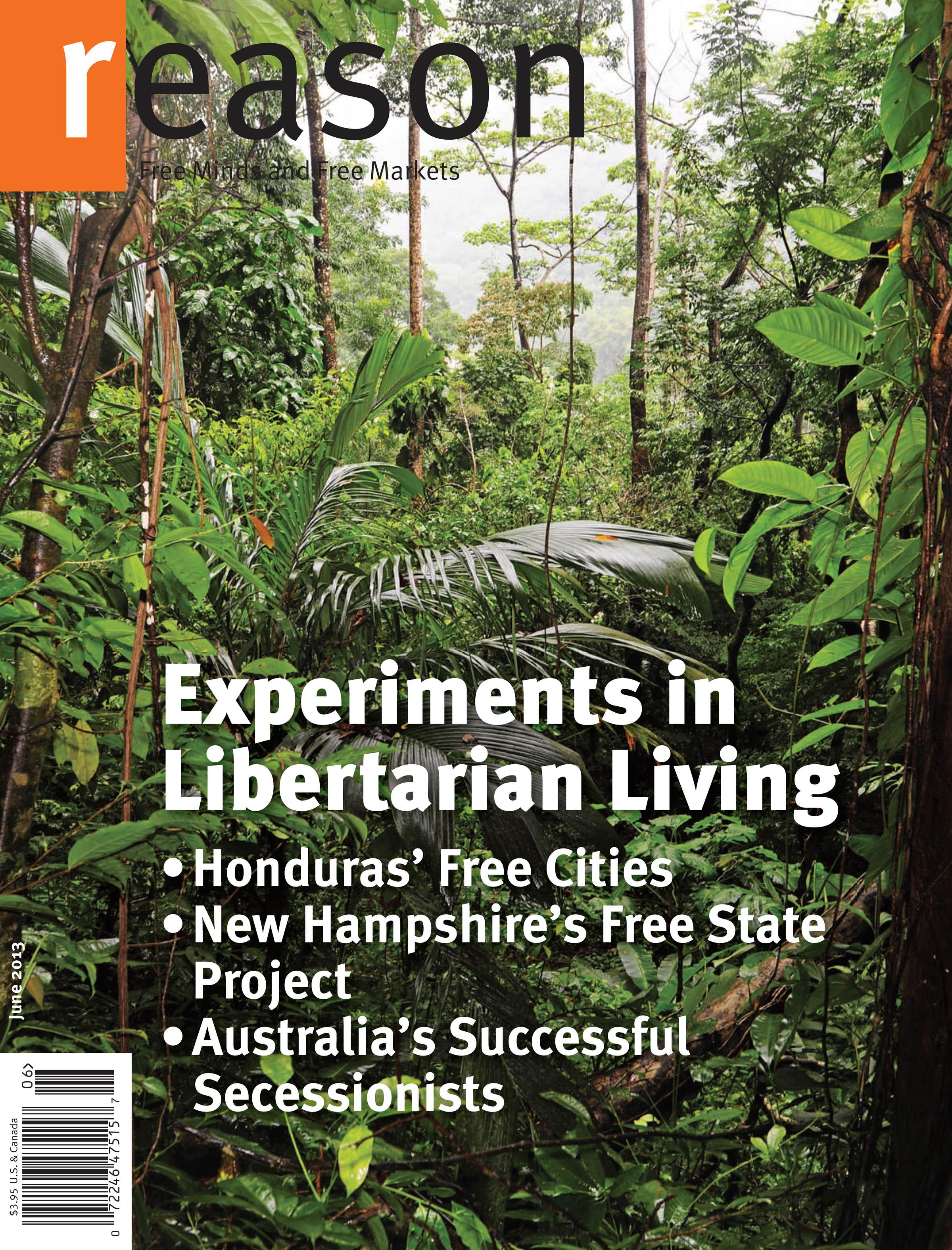 Reason Magazine, June 2013 cover image