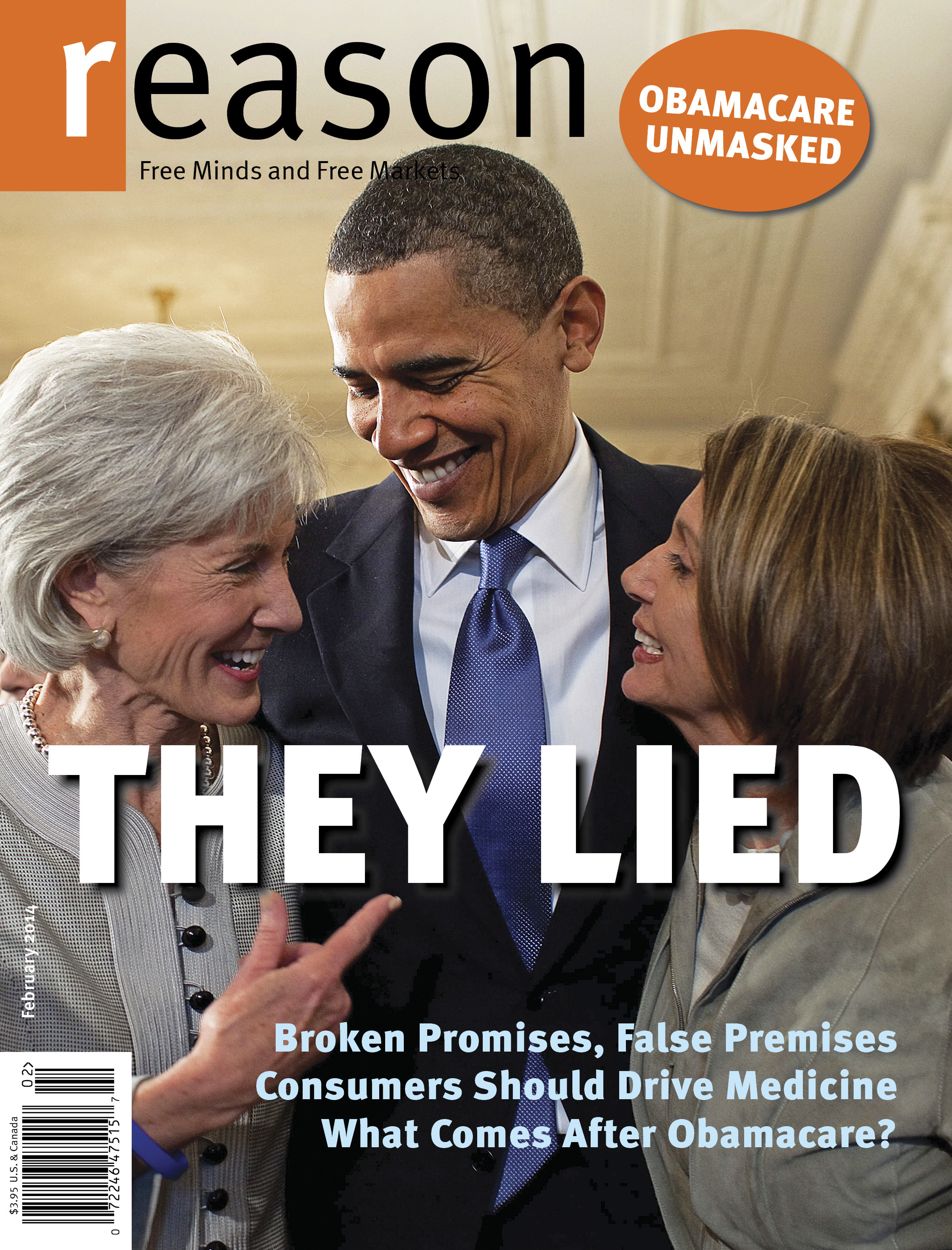 Reason Magazine, February 2014 cover image