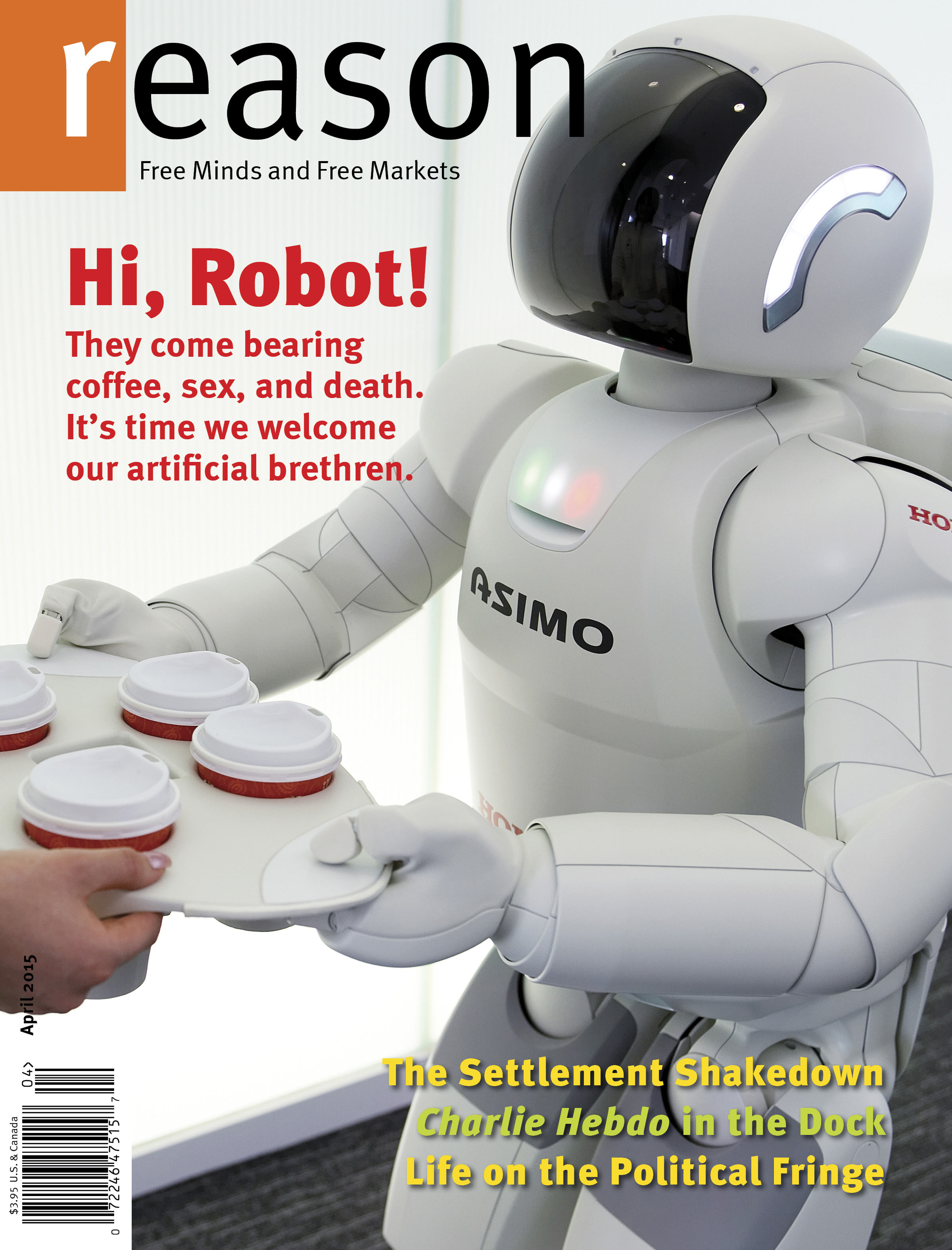 Reason Magazine, April 2015 cover image