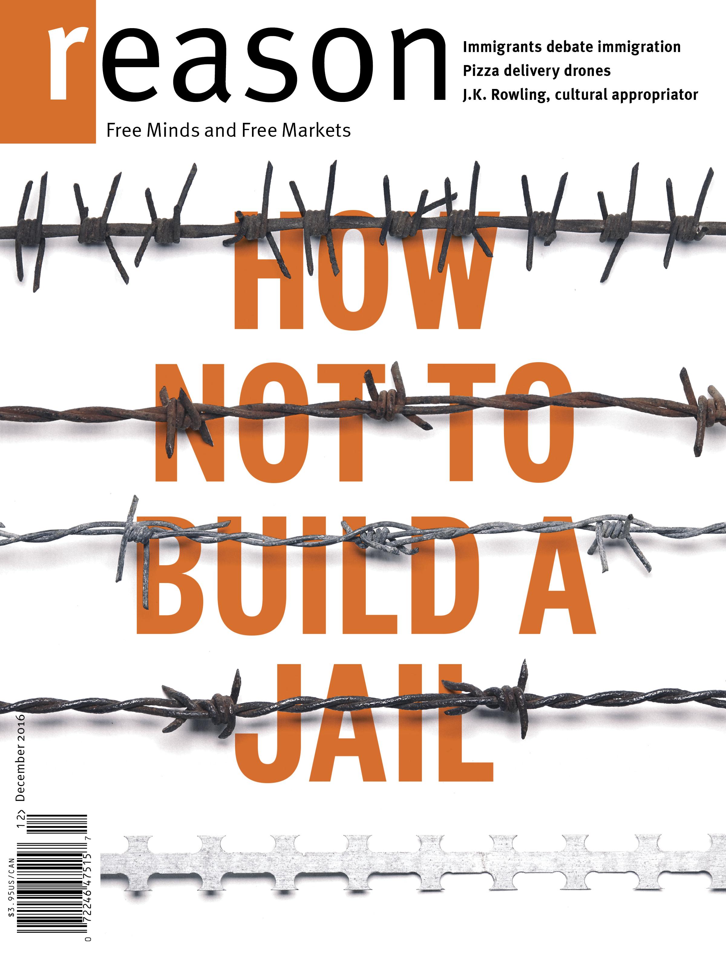 Reason Magazine, December 2016 cover image