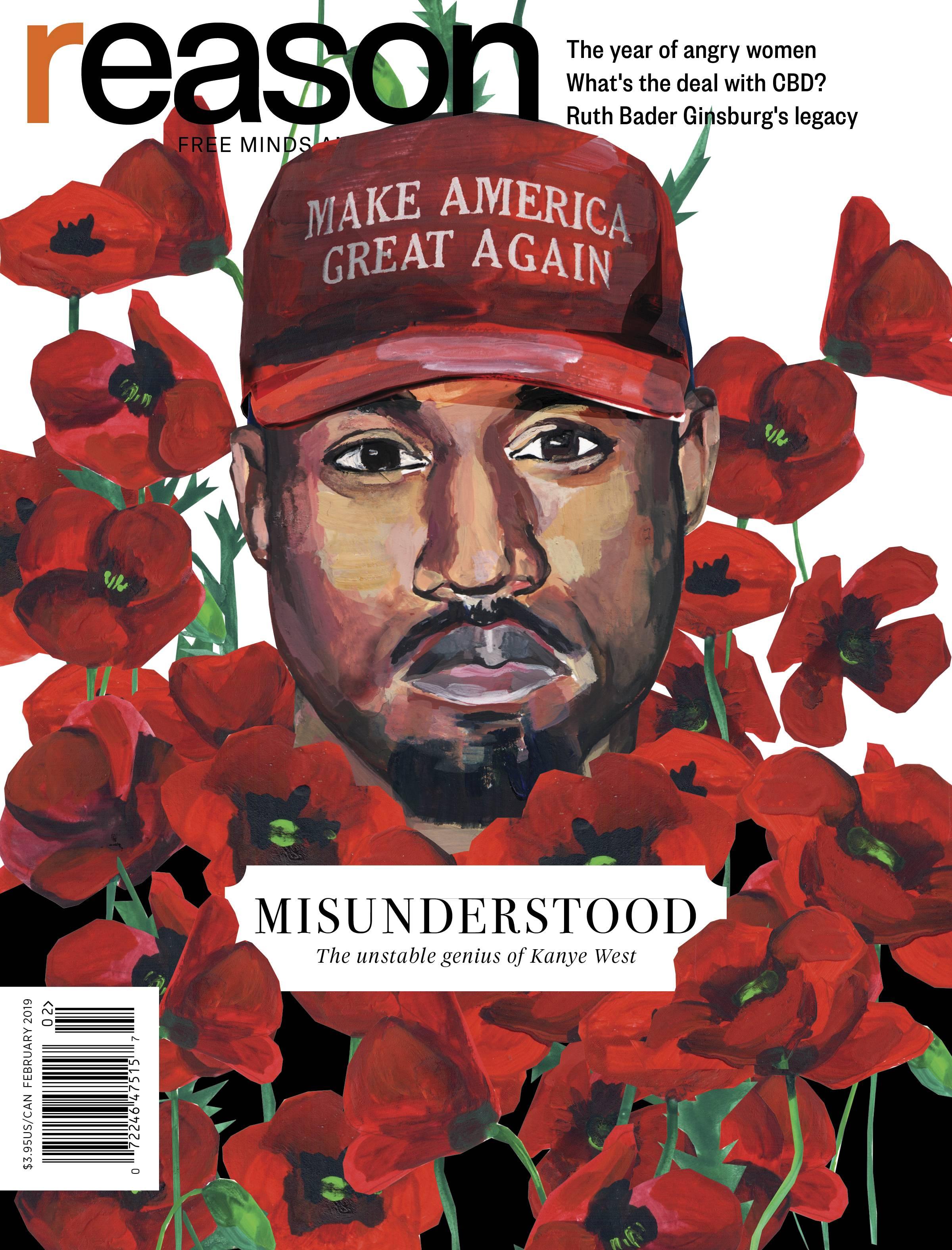 Reason Magazine, February 2019 cover image