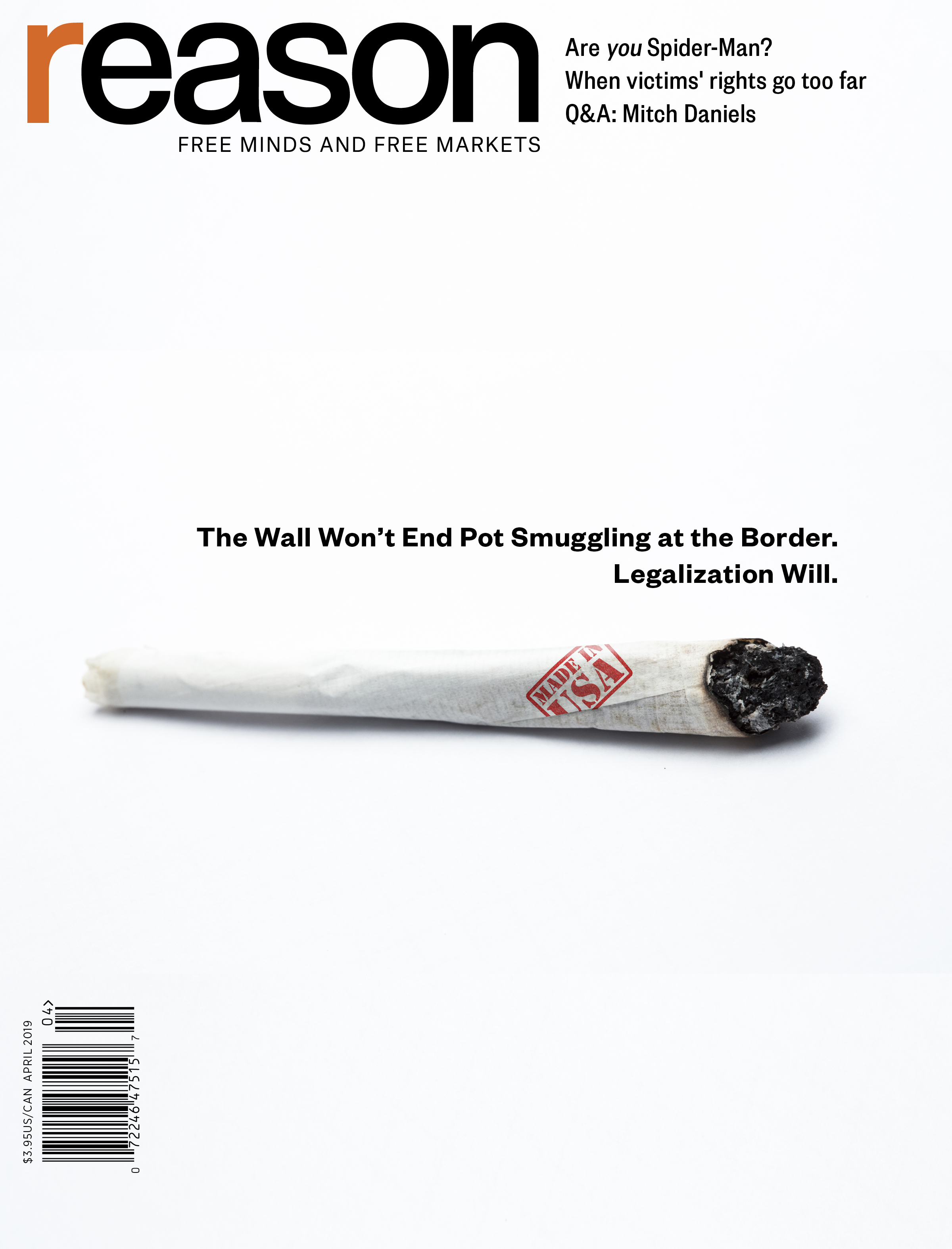 Reason Magazine, April 2019 cover image