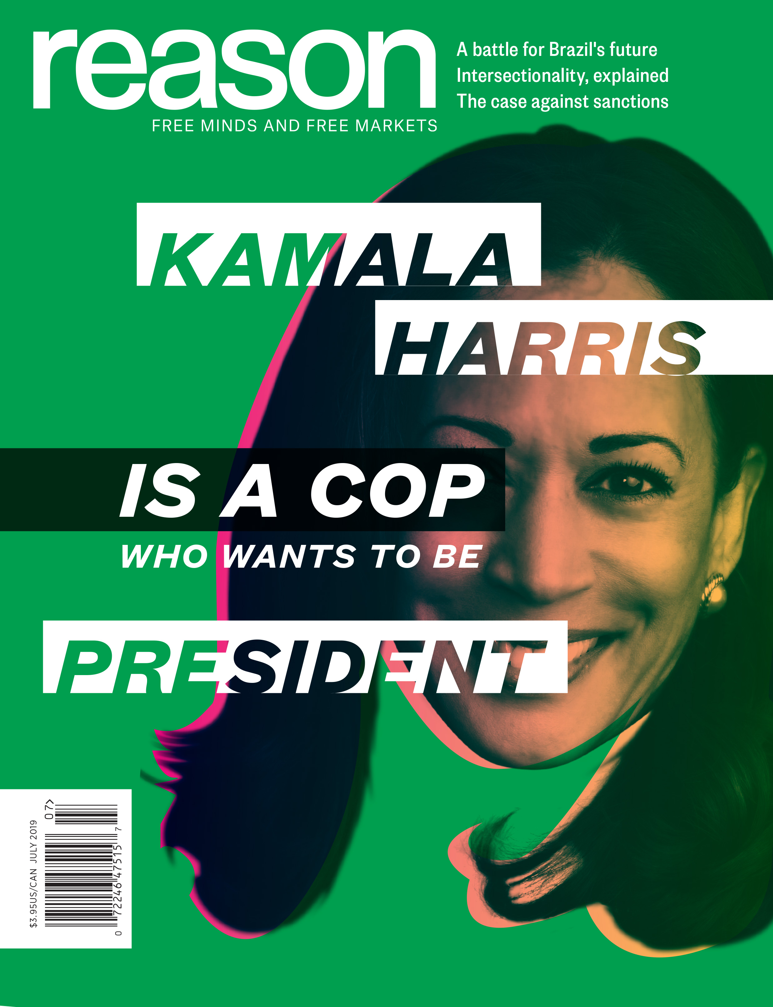 Reason Magazine, July 2019 cover image