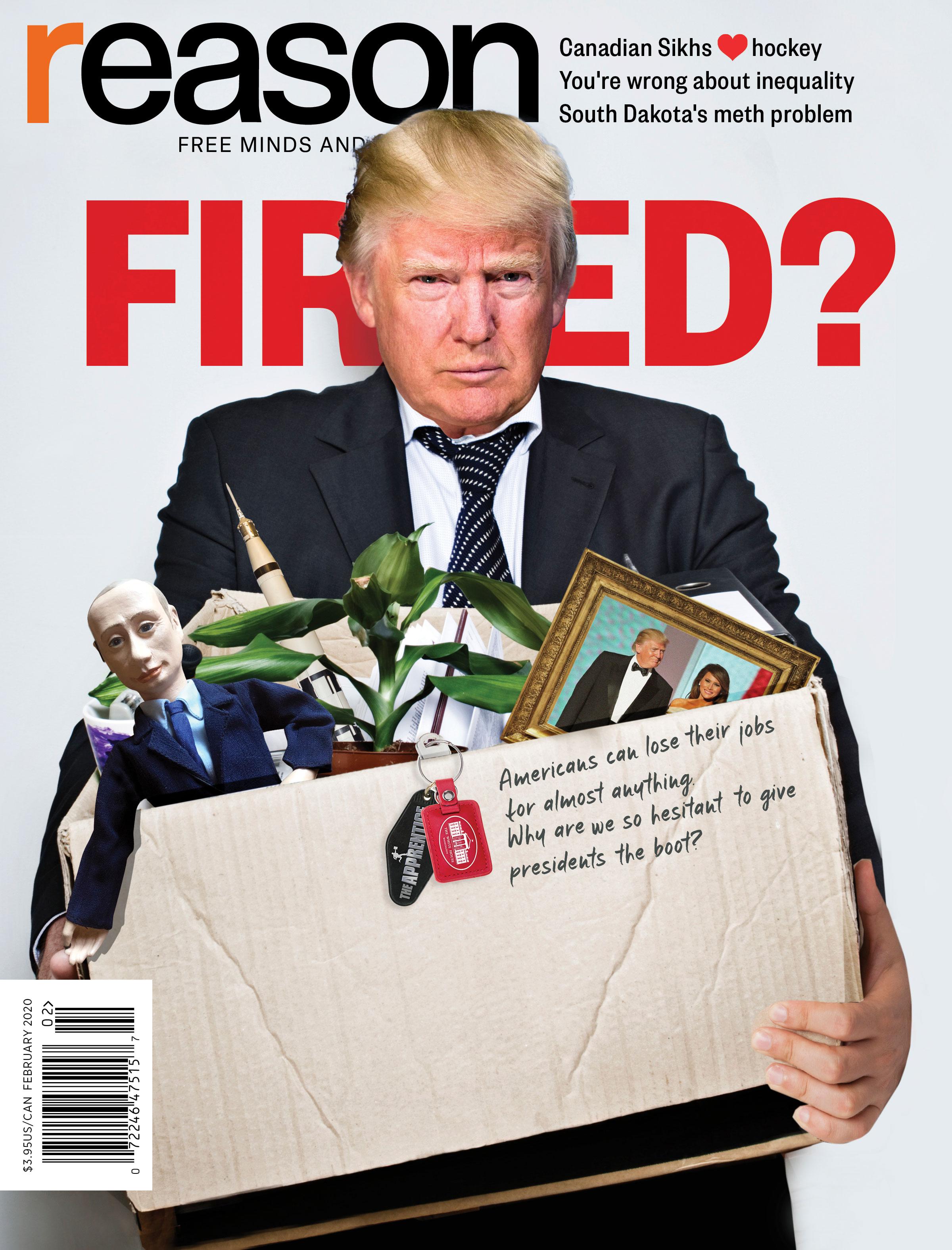 Reason Magazine, February 2020 cover image