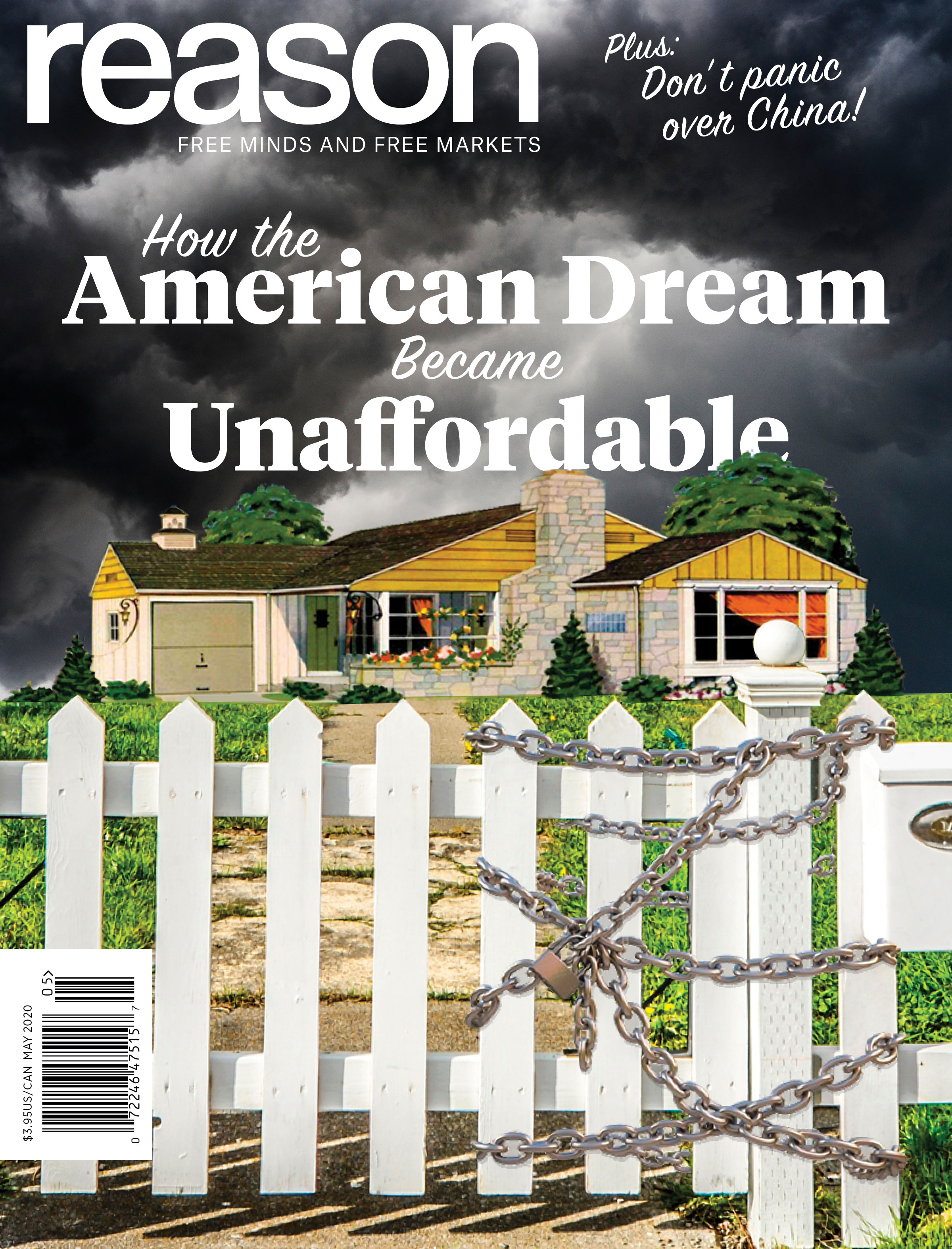 Reason Magazine, May 2020 cover image