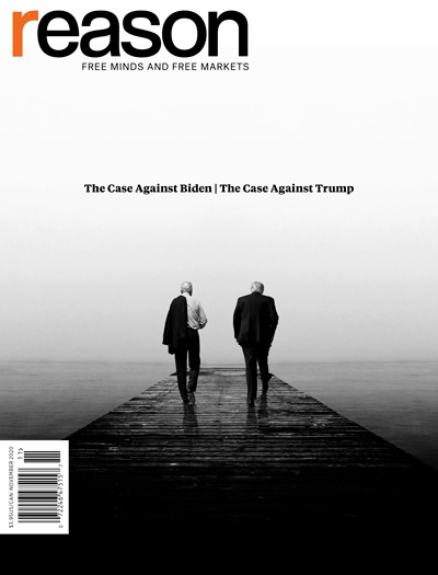 Reason Magazine, November 2020 cover image