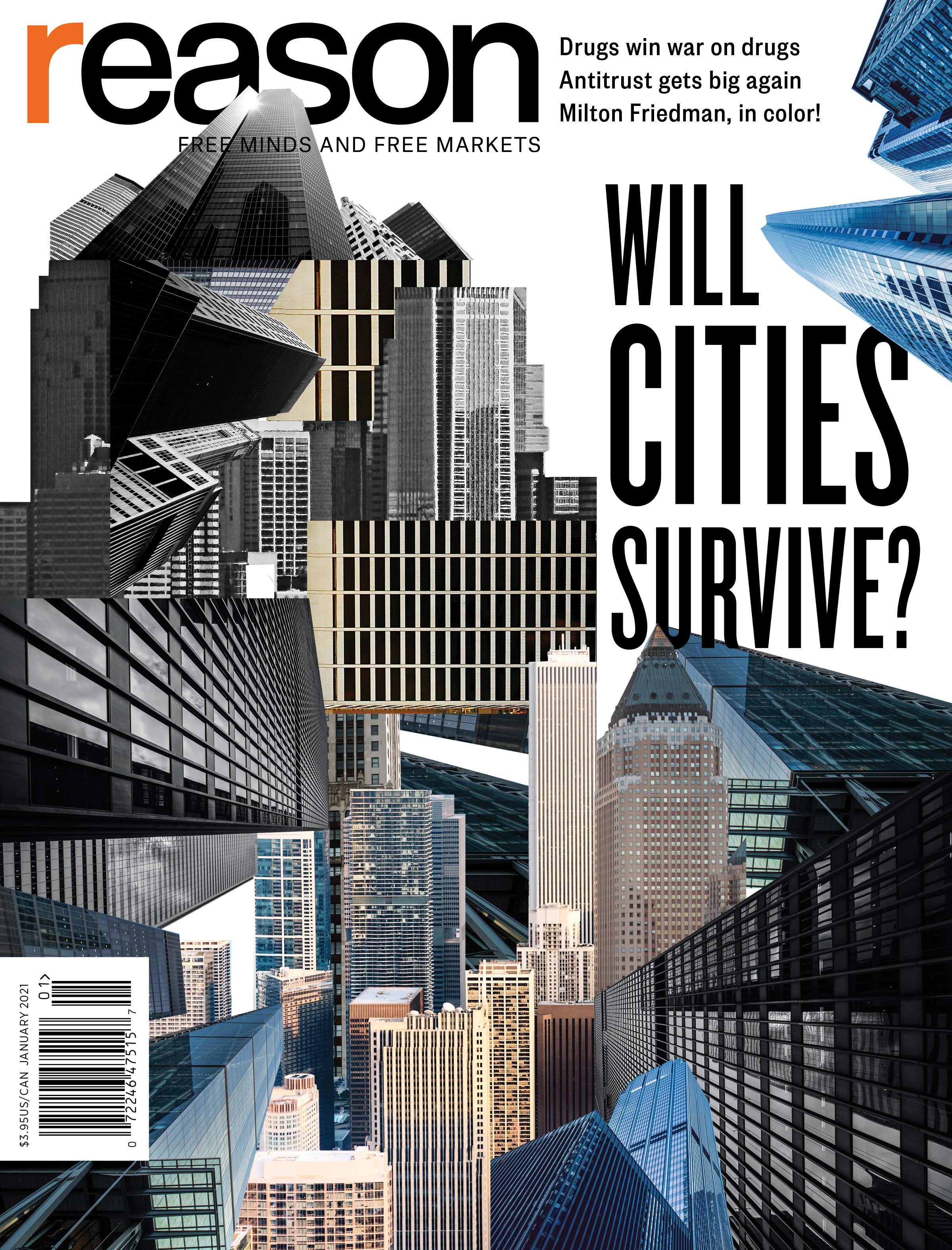 Reason Magazine, January 2021 cover image