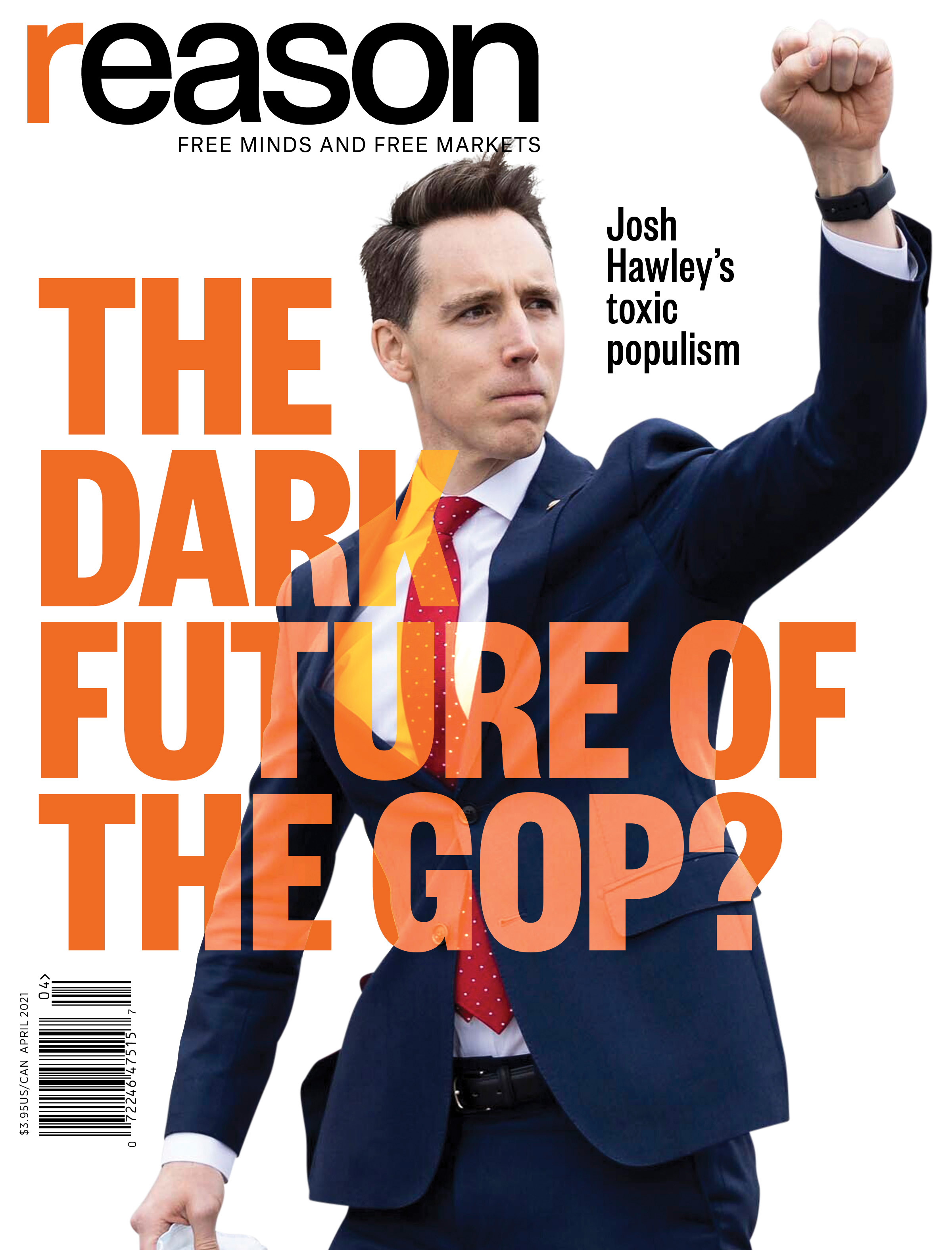 Reason Magazine, April 2021 cover image