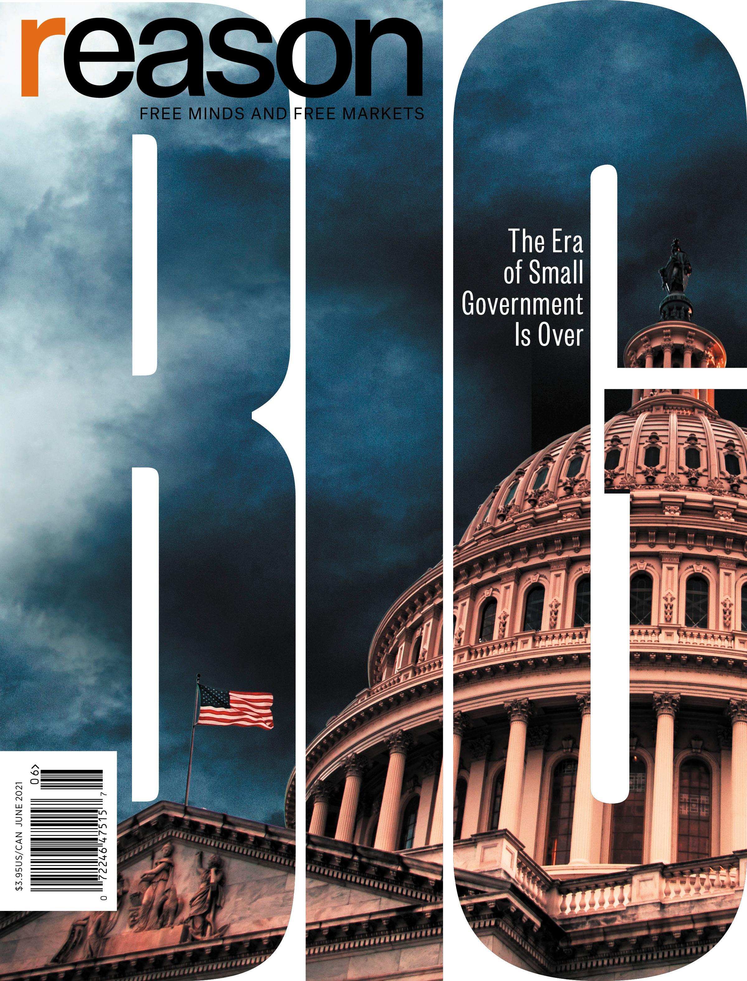 Reason Magazine, June 2021 cover image