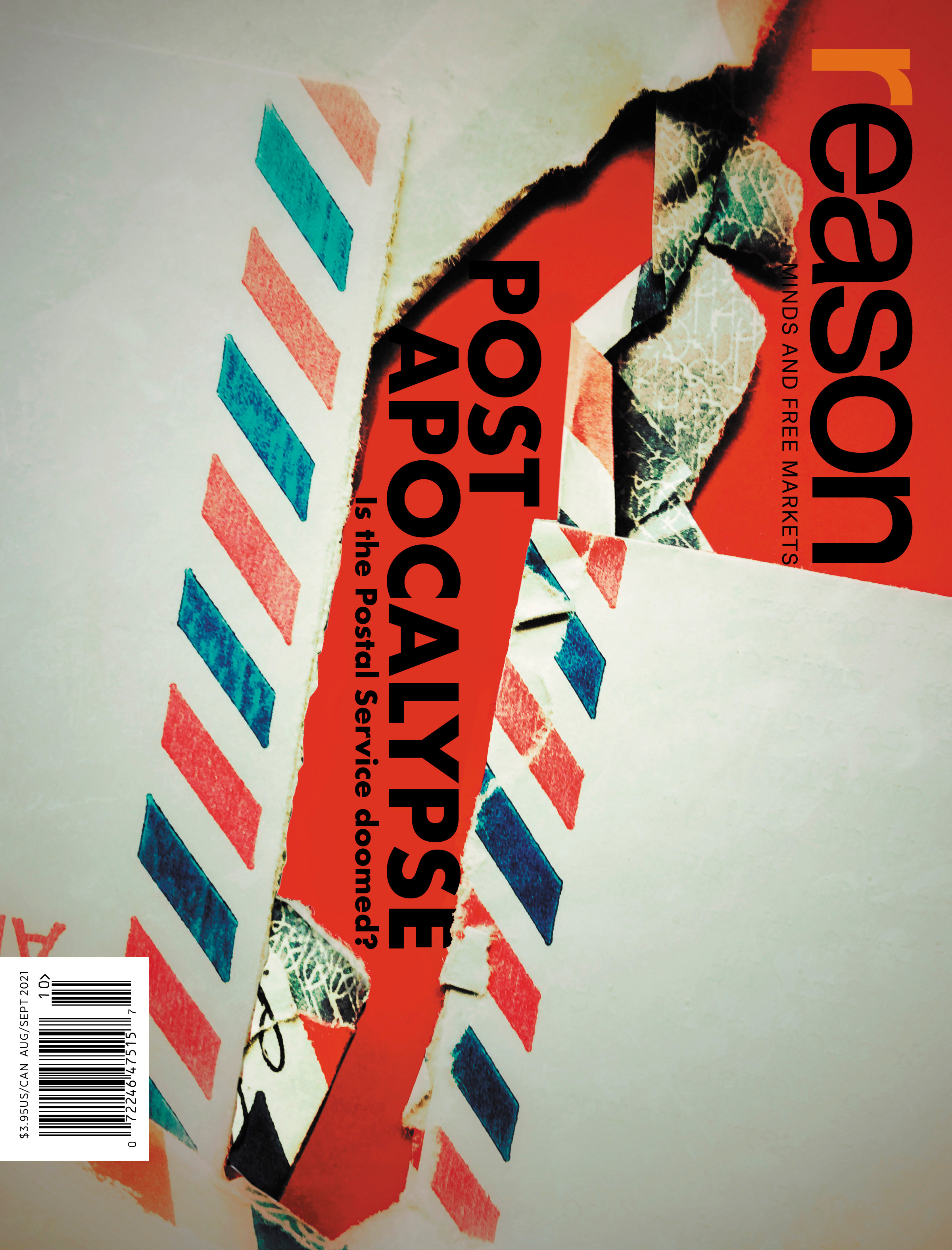 Reason Magazine, August/September 2021 cover image